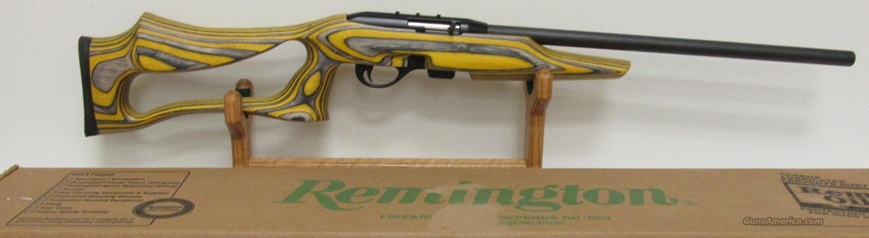 Remington NOS 597 LR Yellow Jacket 22LR  Guns > Rifles > Remington Rifles - Modern > .22 Rimfire Models