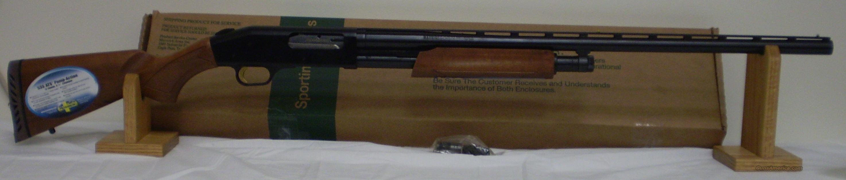 Mossberg Model 535 ATS 12ga Shotgun Unfired  Guns > Shotguns > Mossberg Shotguns > Pump > Sporting