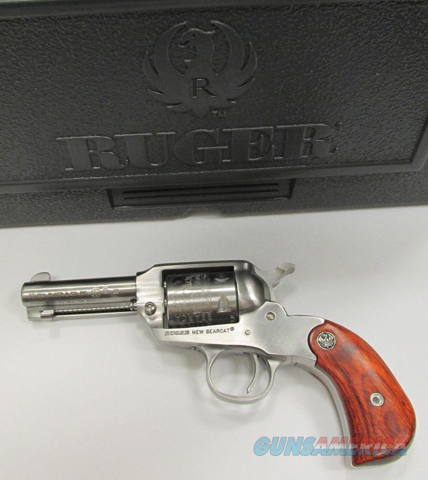 "Ruger Bearcat Shopkeeper Exclusive SS 3"" Birdshead Grips  Guns > Pistols > Ruger Single Action Revolvers > Bearcat"