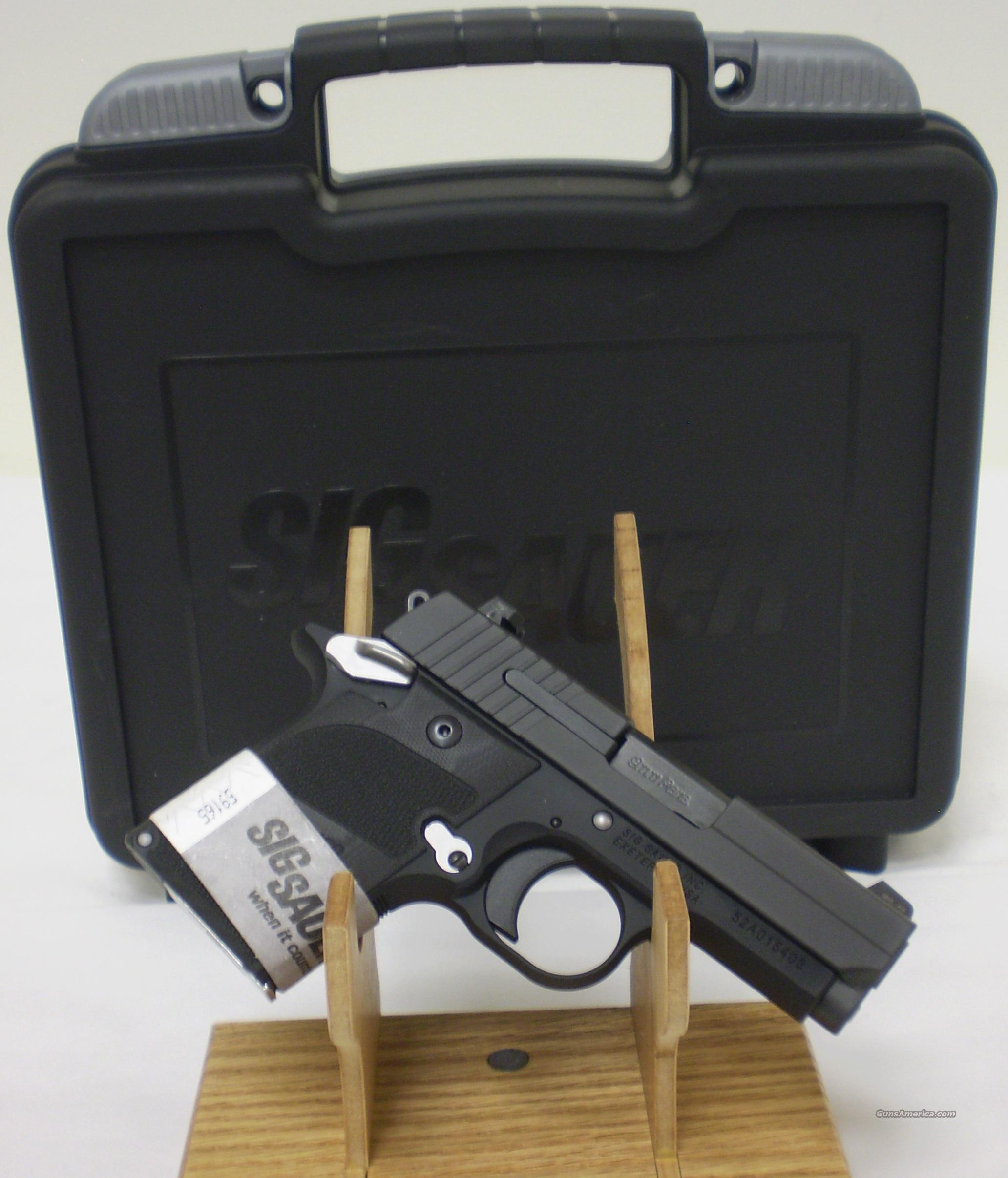 Sig Sauer P938 Nightmare 9MM NIB Conceal N Carry  Guns > Pistols > Sig - Sauer/Sigarms Pistols > Other