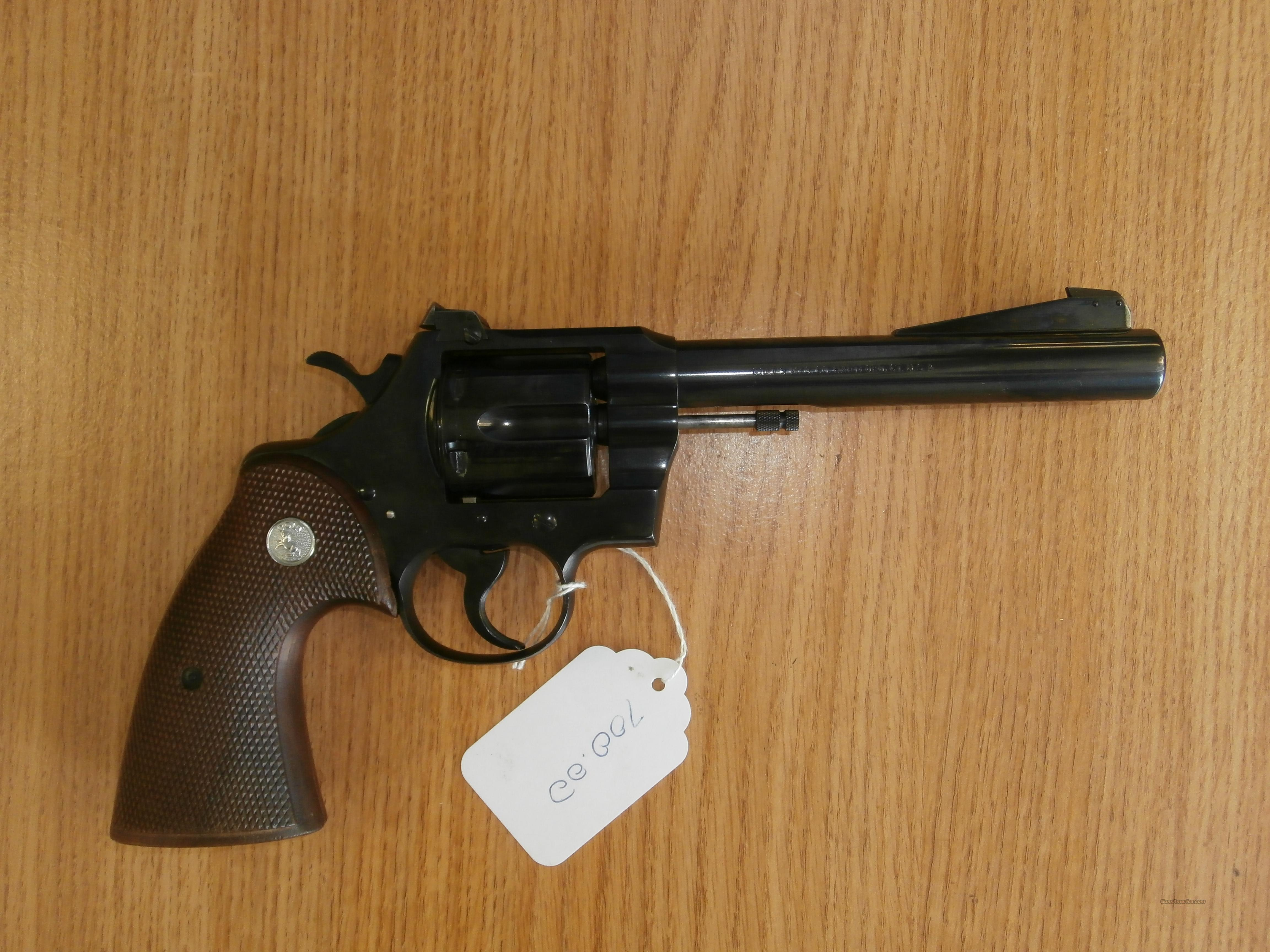 Colt Officers model 22  Guns > Pistols > Colt Double Action Revolvers- Modern