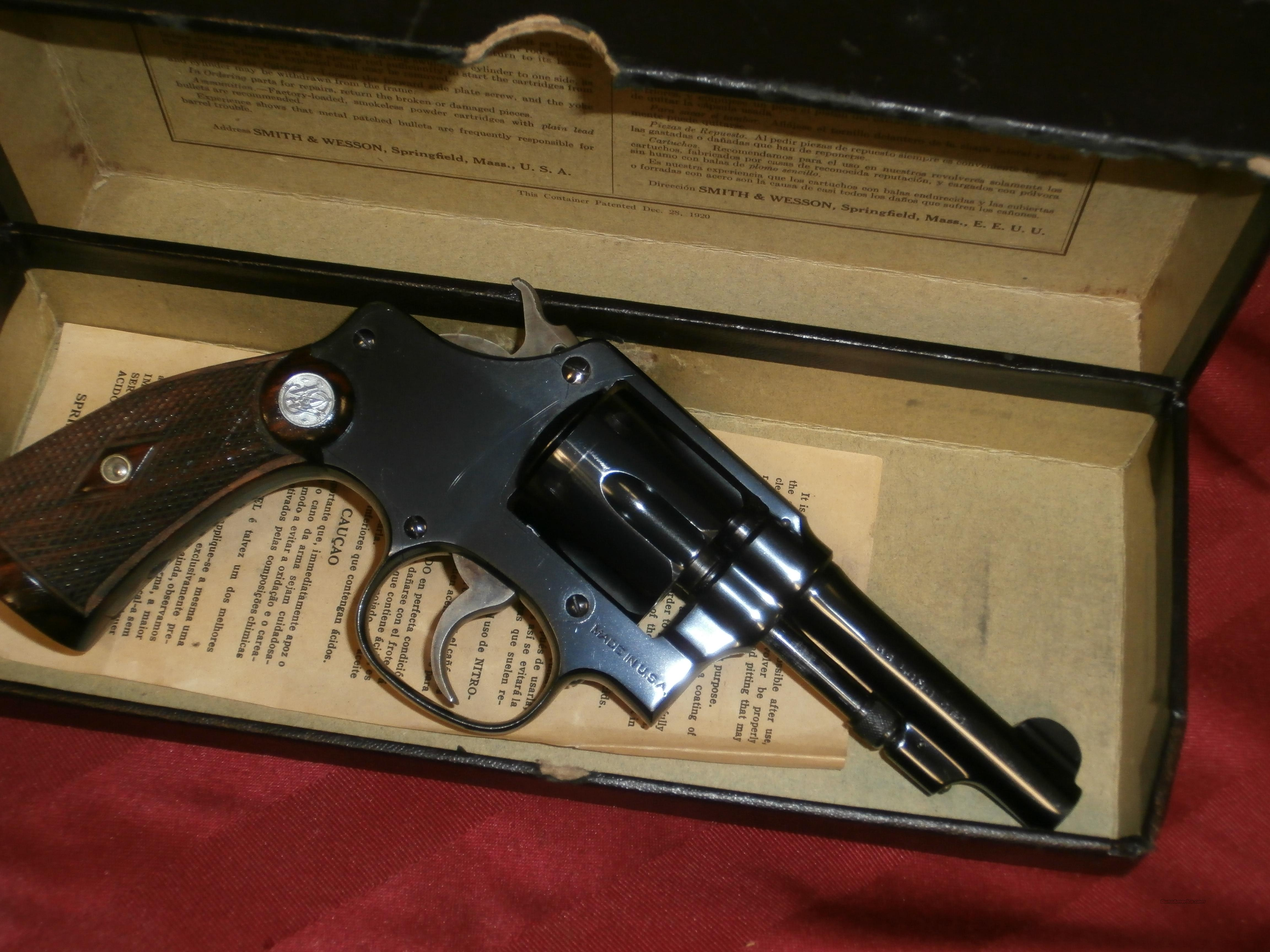 Smith & Wesson 32 regulation Police  Guns > Pistols > Smith & Wesson Revolvers > Full Frame Revolver