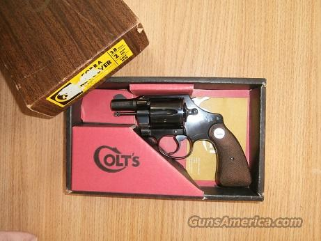 Colt Cobra Blue  Guns > Pistols > Colt Double Action Revolvers- Modern