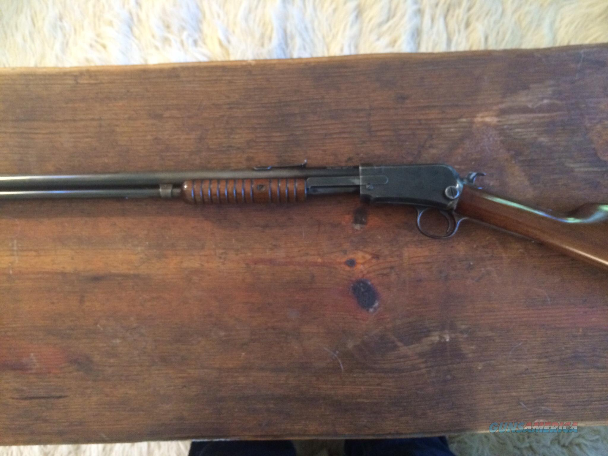 Winchester was the first American company to offer a practical 22 pumpaction rifle the Model 1890 Designed by John Moses Browning the Model 1890 aped