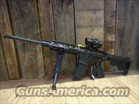 DPMS AR 15 Semi Rifle w Laser Holo Picatinny Quad Light Bipod 2 Mags Tricked Out New in Box  Guns > Rifles > DPMS - Panther Arms > Complete Rifle