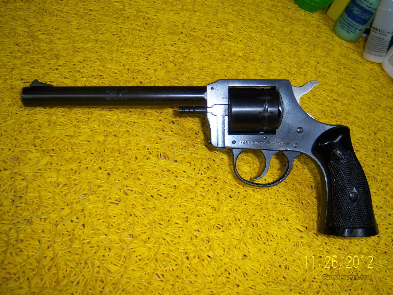 H&R 929 revolver  Guns > Pistols > Harrington & Richardson Pistols