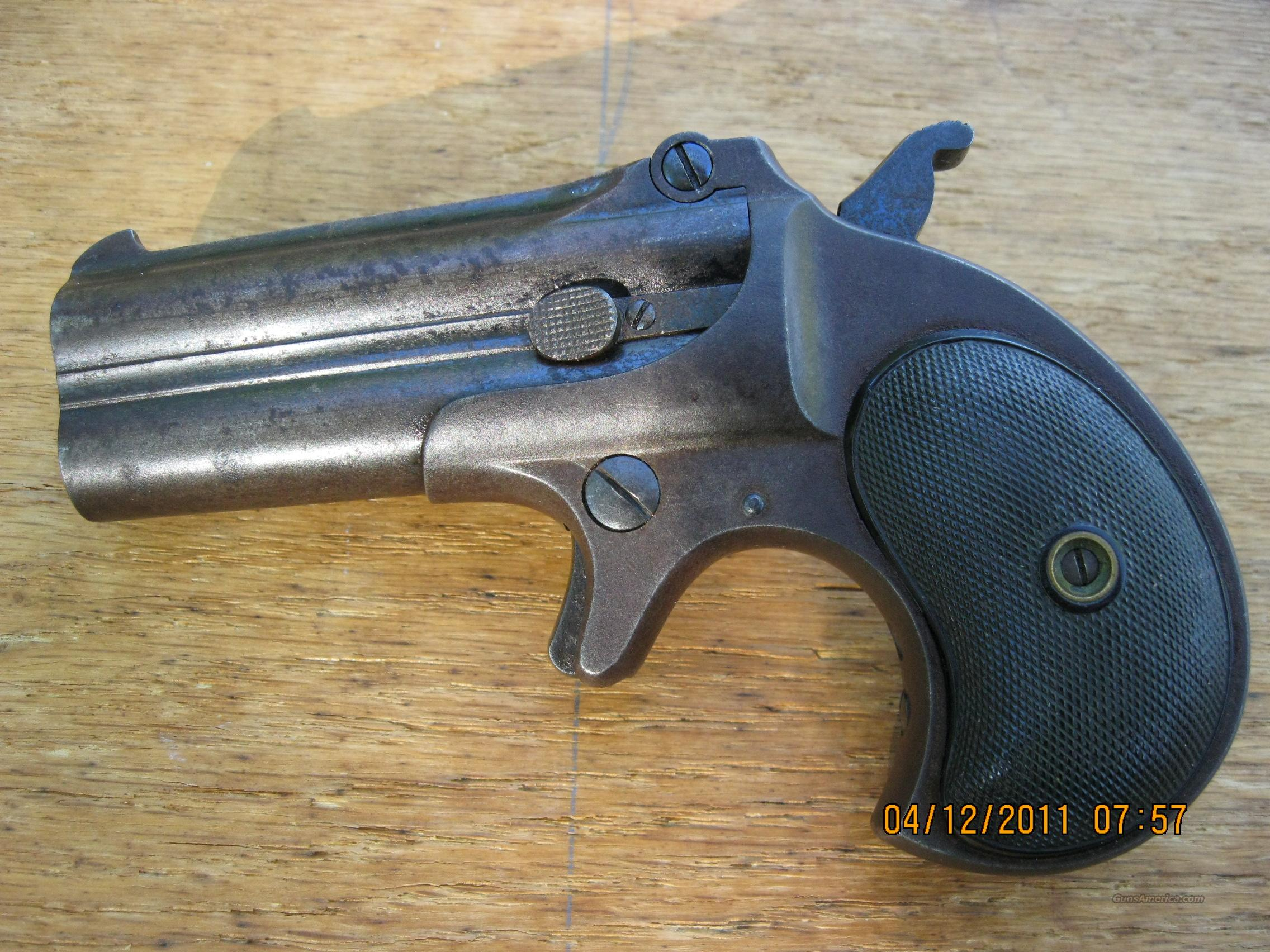 REMINGTON DOUBLE DERRINGER  Guns > Pistols > Remington Derringers