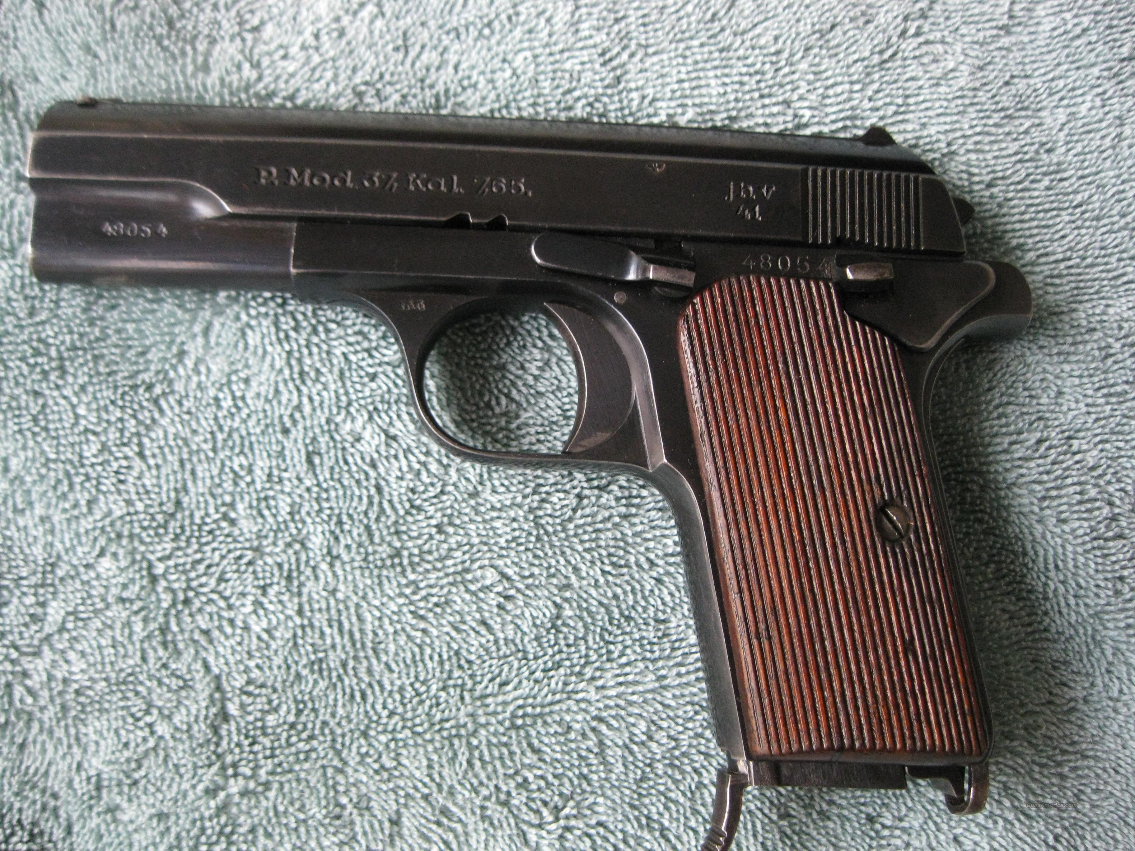 Femaru 1941 German 32 acp great shape  Guns > Pistols > Military Misc. Pistols Non-US