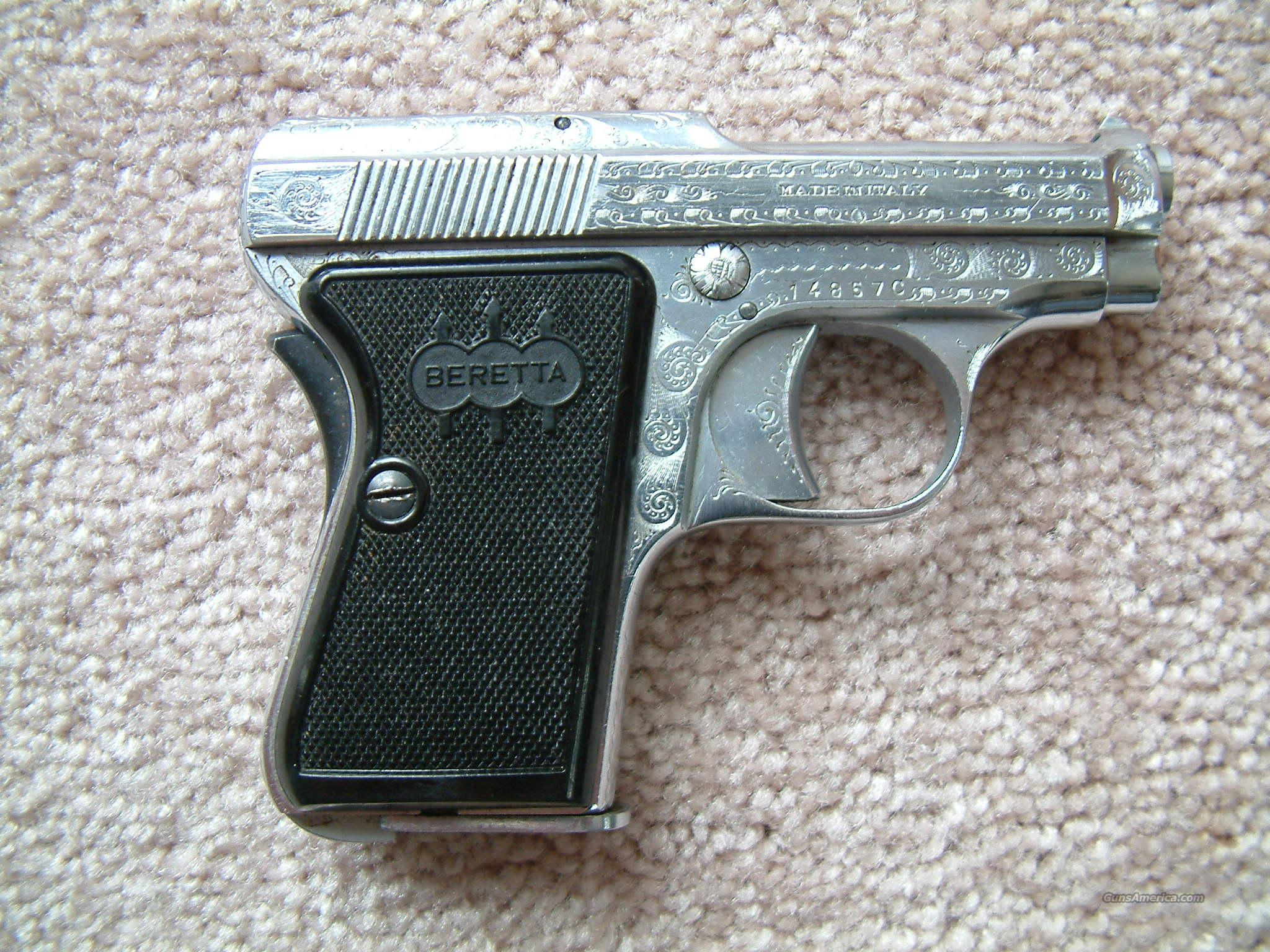 Beretta 420  Guns > Pistols > Beretta Pistols > Rare & Collectible