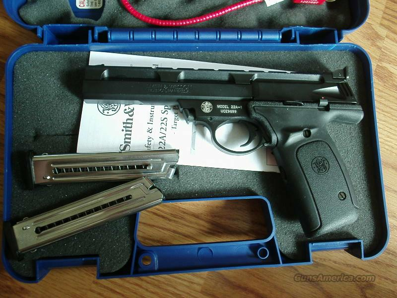smith and wesson 22a-1  Guns > Pistols > Smith & Wesson Pistols - Autos > .22 Autos