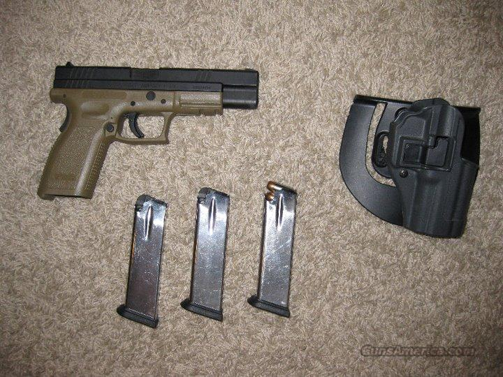"Springfield XD 5"" Tactical .40 cal Dark Earth  Guns > Pistols > Springfield Armory Pistols > XD (eXtreme Duty)"