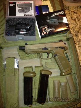 FNP TACTICAL 45 & M6X LIGHT LASER COMBO  Guns > Pistols > FNH - Fabrique Nationale (FN) Pistols > FNP