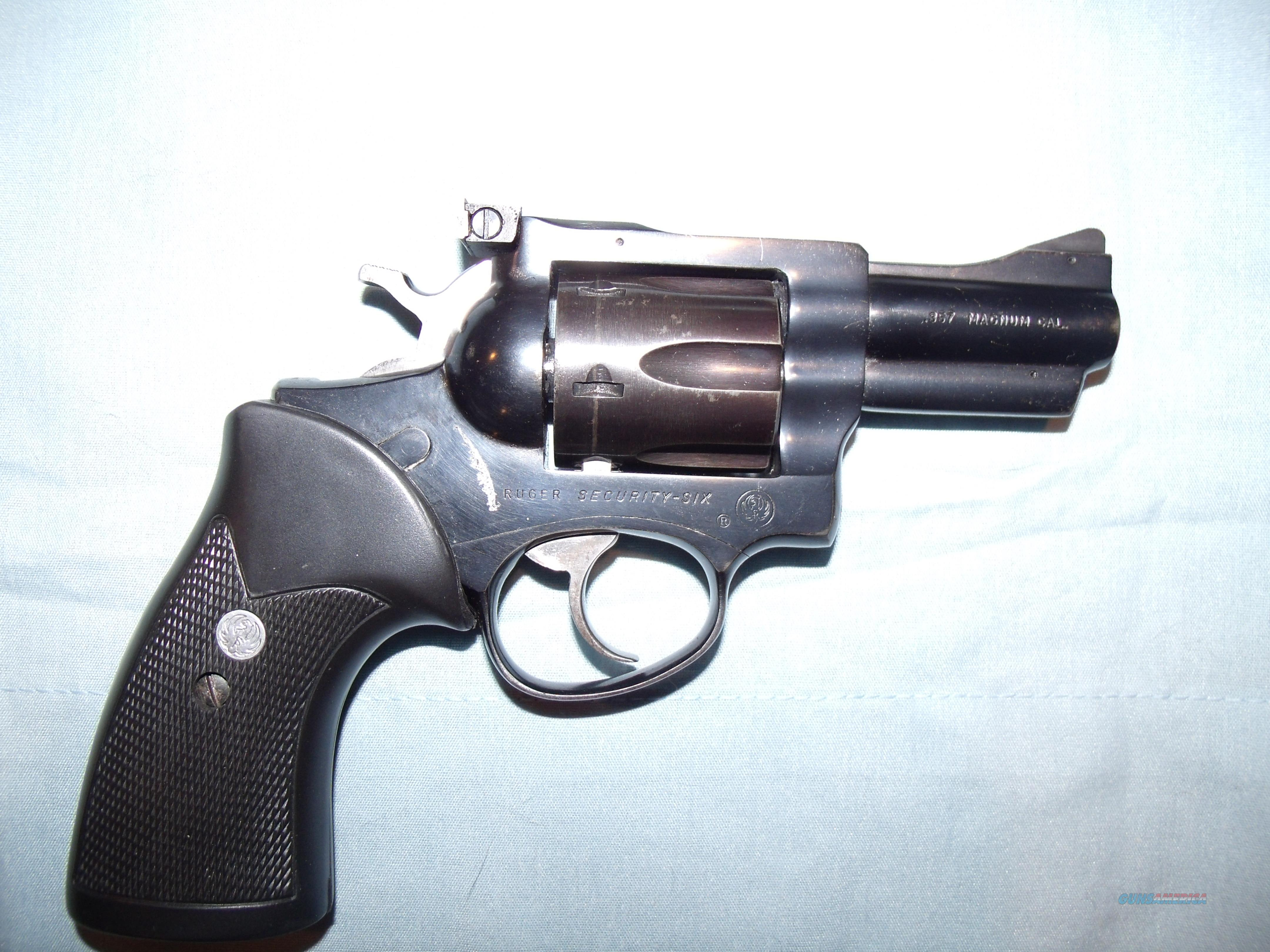 RUGER SECURITY-SIX .357 MAG  Guns > Pistols > Ruger Double Action Revolver > Security Six Type
