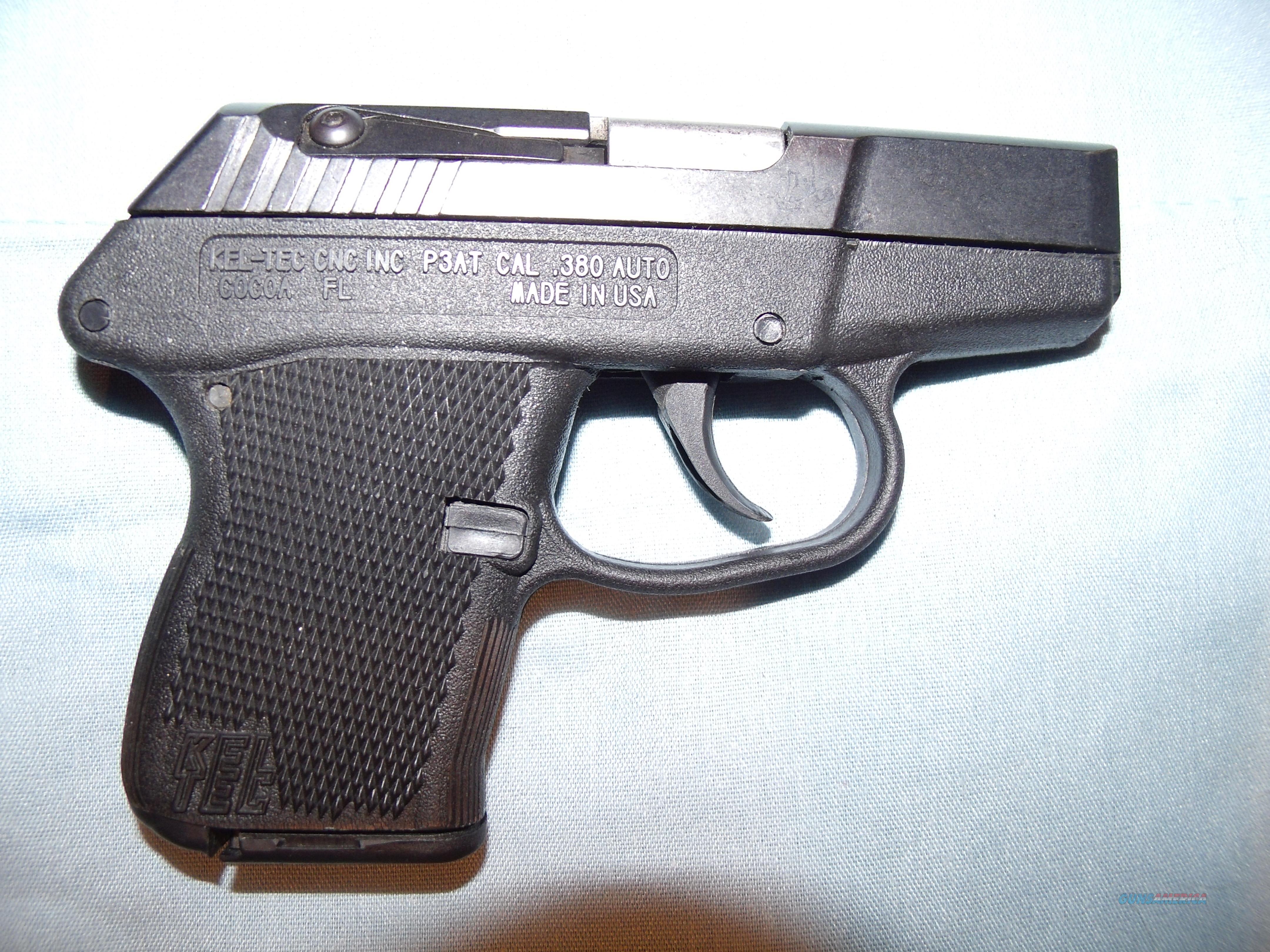 Kel-Tec P3AT .380  Guns > Pistols > Kel-Tec Pistols > Pocket Pistol Type