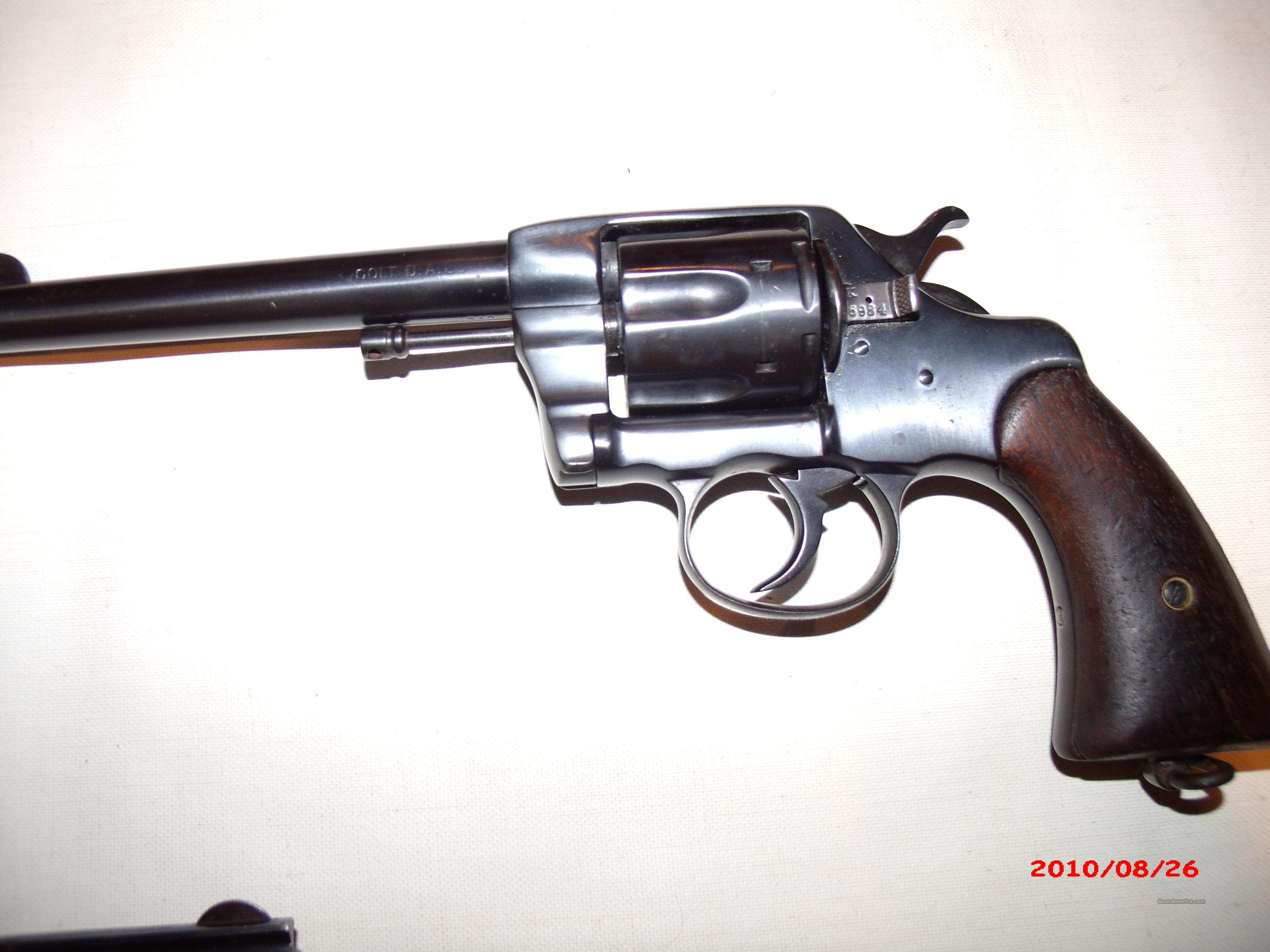 COLT, M1896,U.S.ARMY MODEL,Free shipping  Guns > Pistols > Colt Double Action Revolvers- Pre-1945