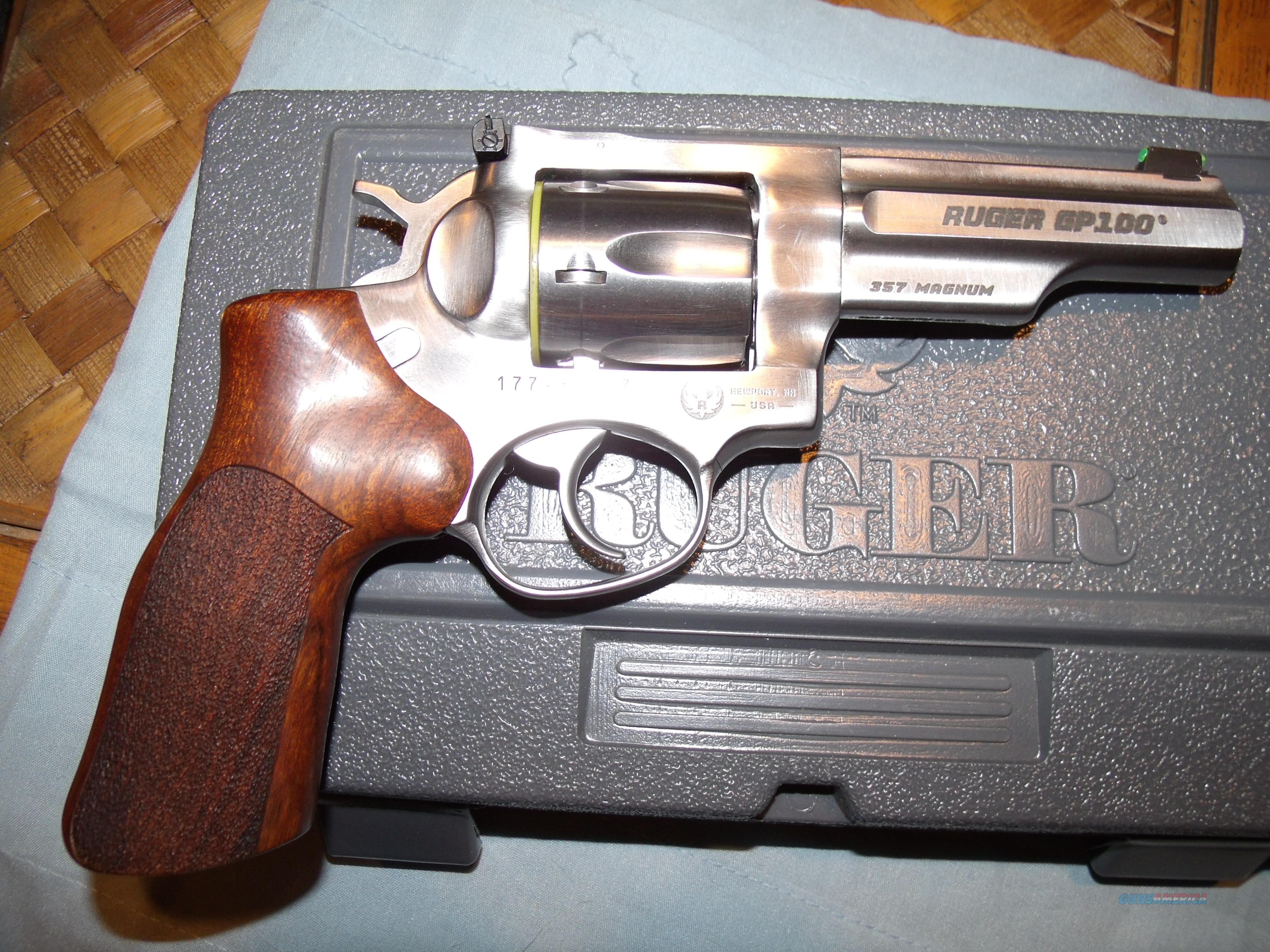 RUGER GP100 MATCH KING  .357 MAG  Guns > Pistols > Ruger Double Action Revolver > GP100