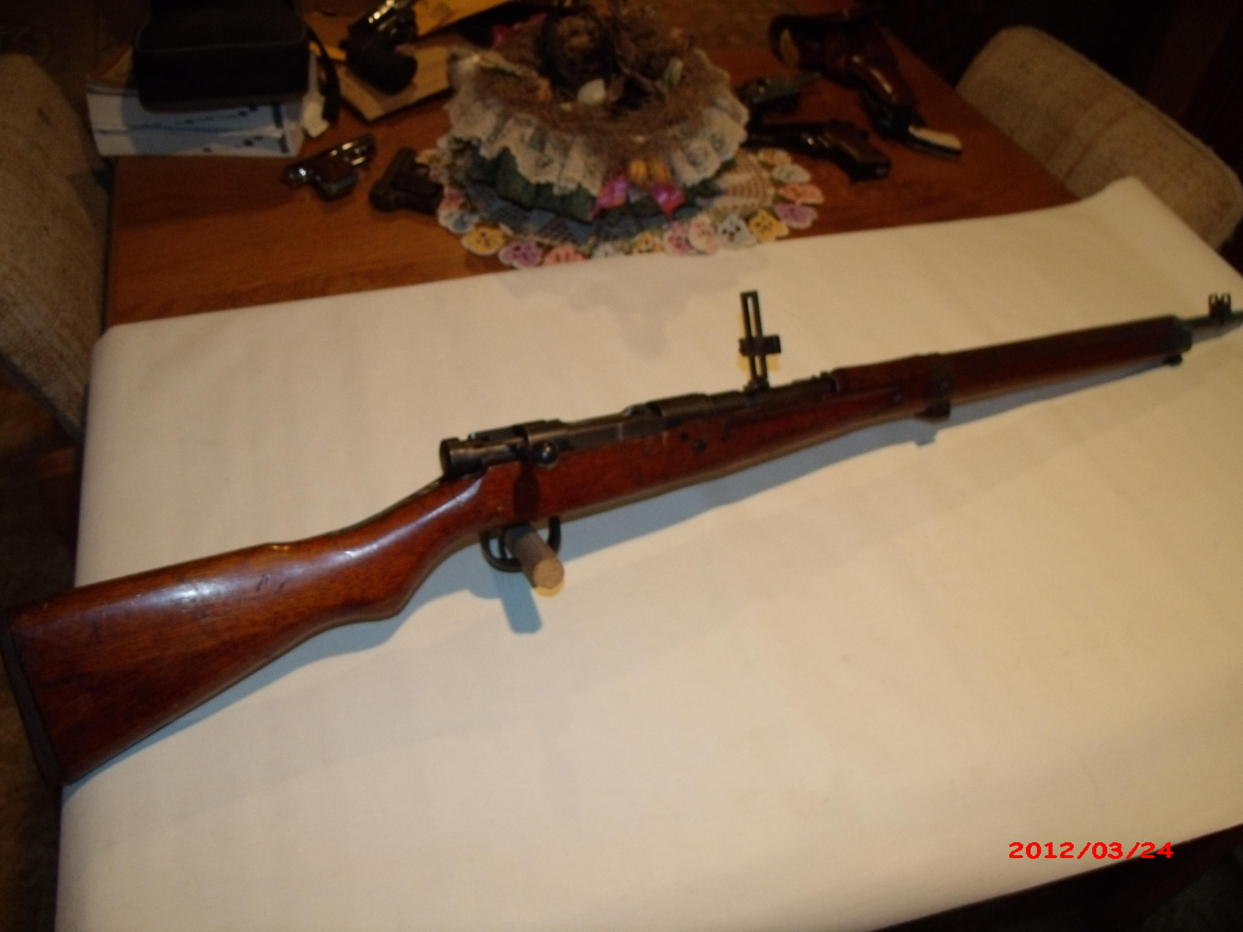 Arisaka,7.7mm  Guns > Rifles > Military Misc. Rifles Non-US > Other