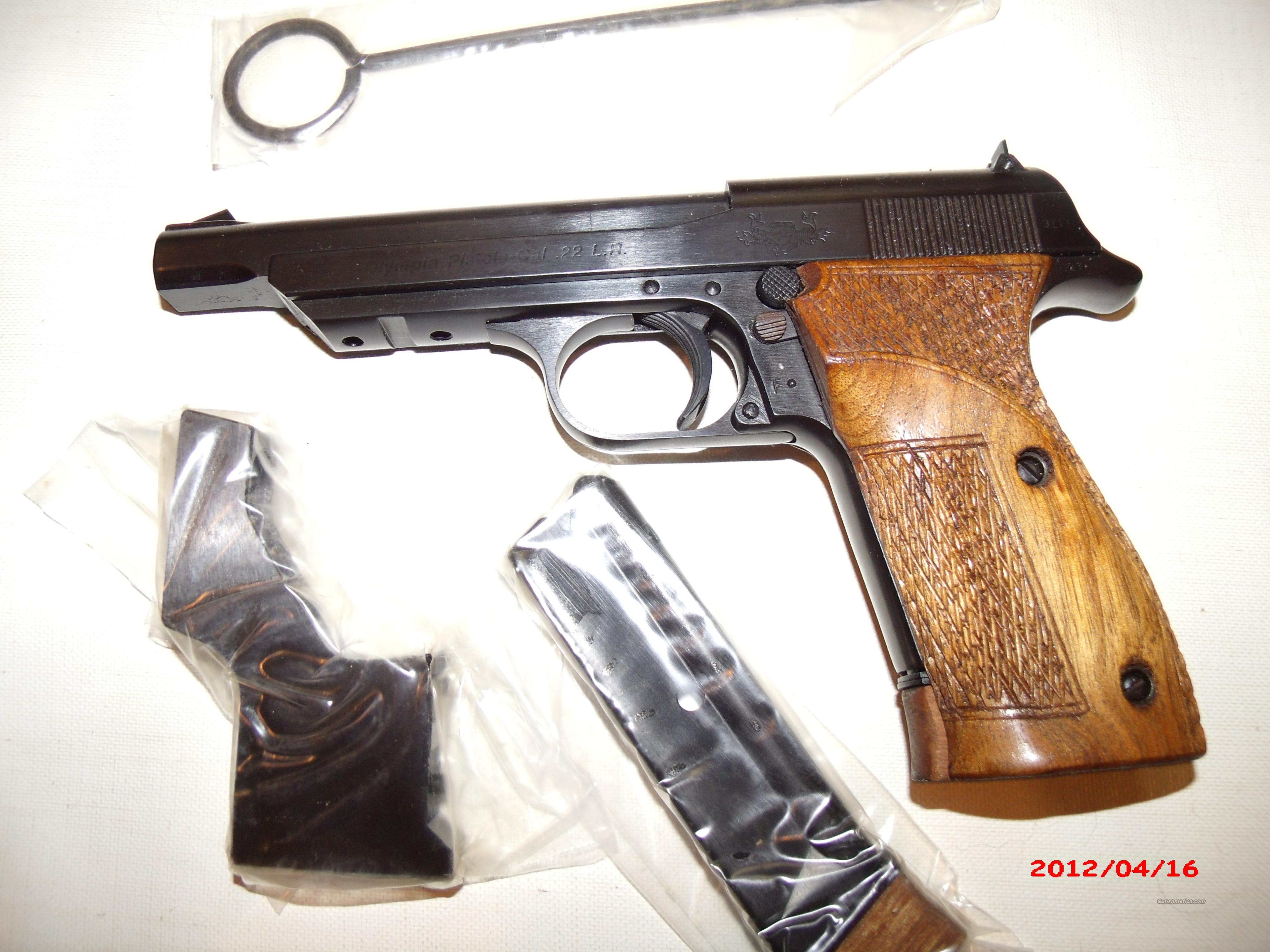 """Walther Reproduction of """"Olympia"""" by China Small Arms  Guns > Pistols > Walther Pistols > Post WWII > Target Pistols"""