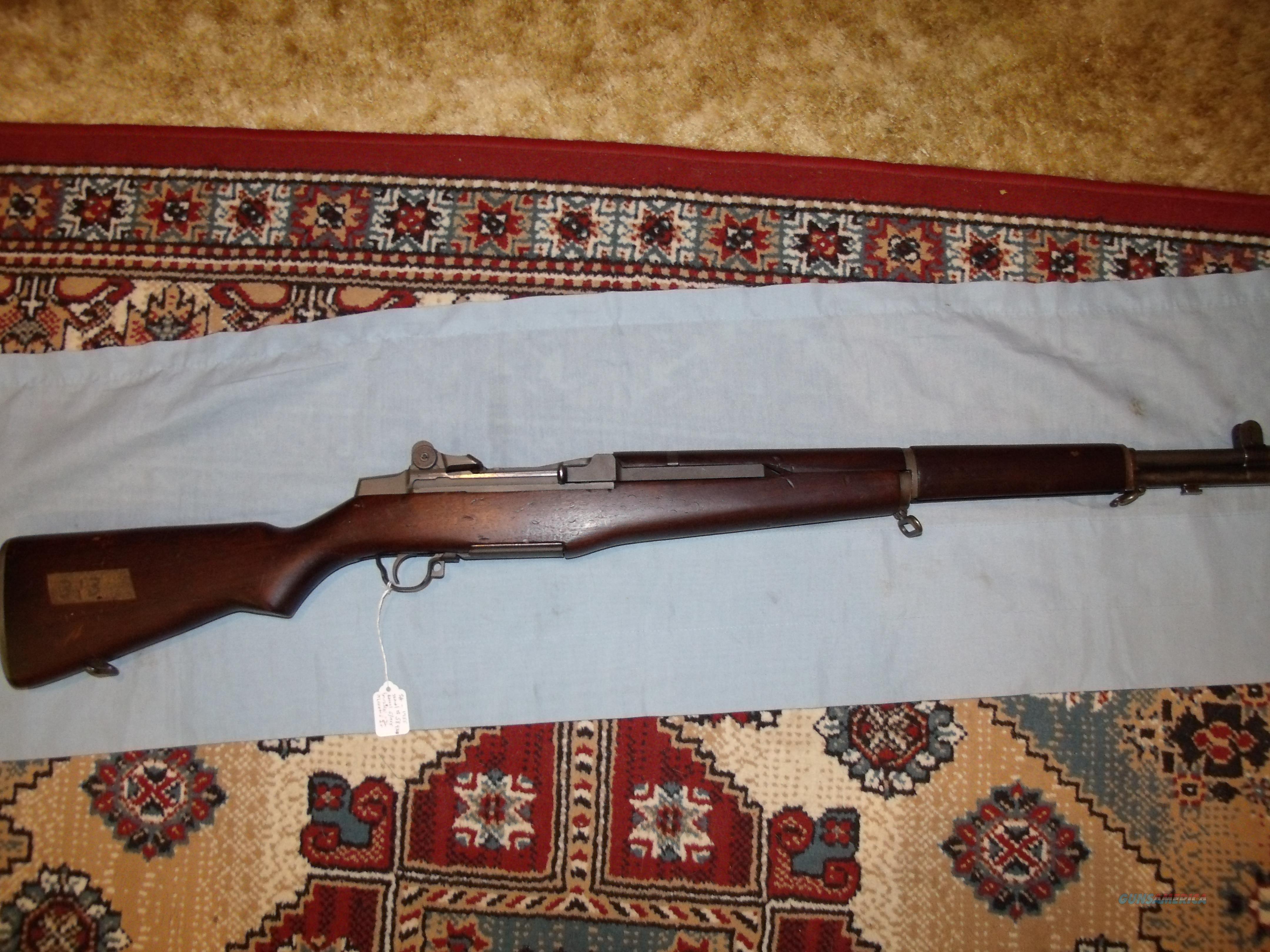 SPRINGFIELD ARMORY 1955 M1 GARAND   Guns > Rifles > Military Misc. Rifles US > M1 Garand