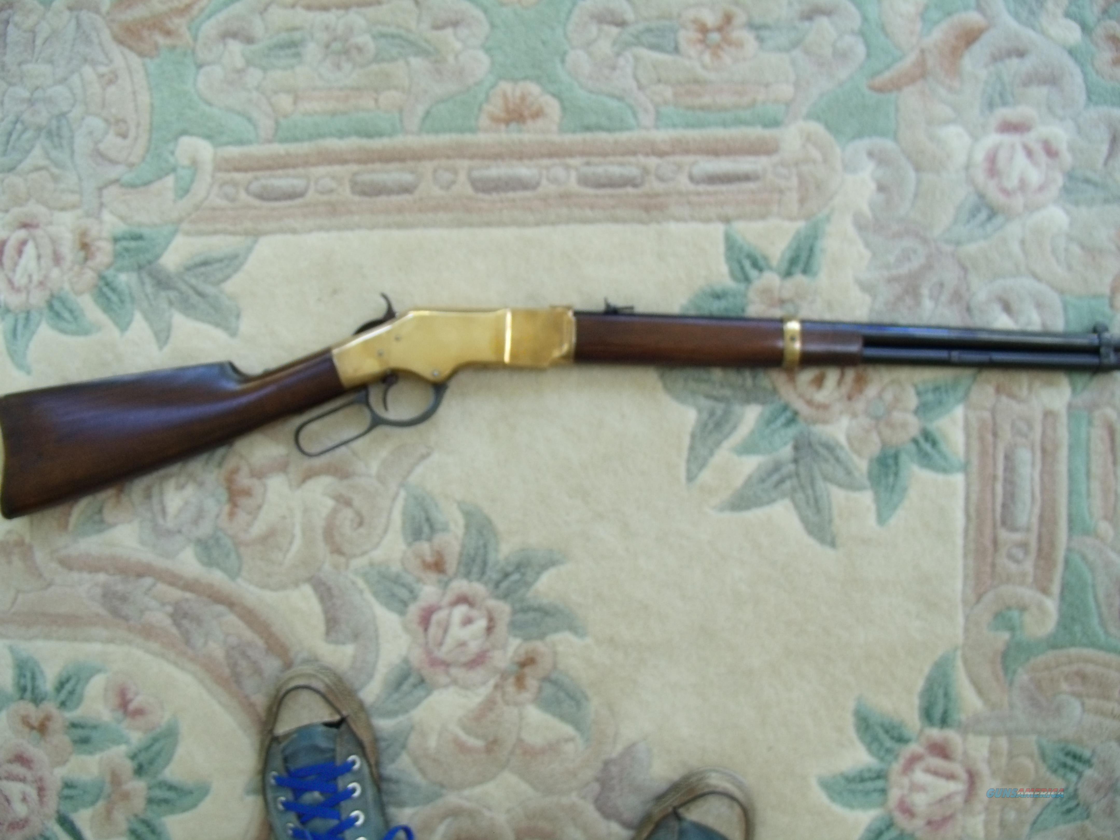 "UBERTI"" YELLOWBOY"" 1666 CARBINE .22LR  Guns > Rifles > Uberti Rifles > Lever Action"