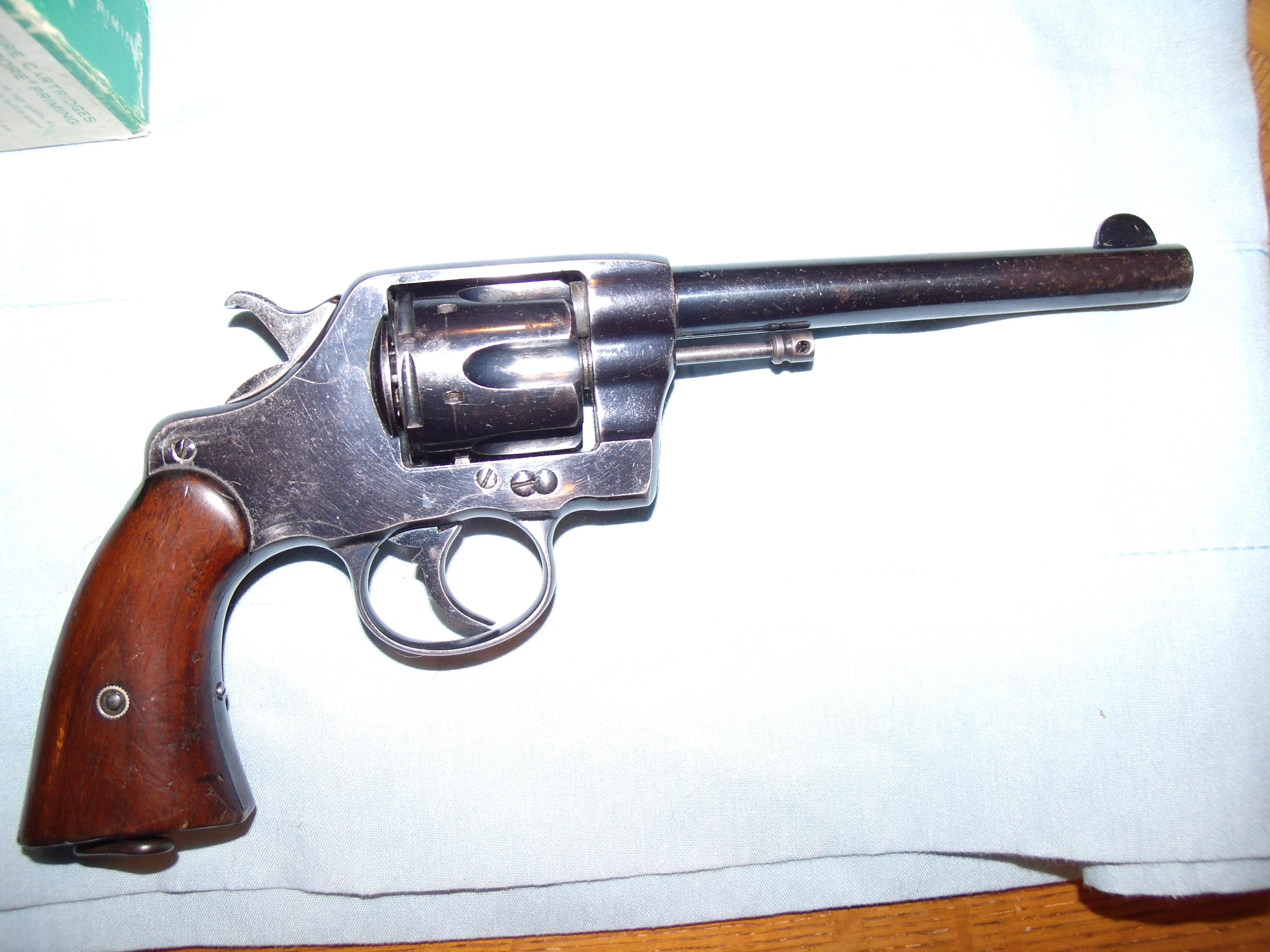 COLT ,US ARMY  M 1901  .38 LONG COLT  Guns > Pistols > Colt Double Action Revolvers- Pre-1945