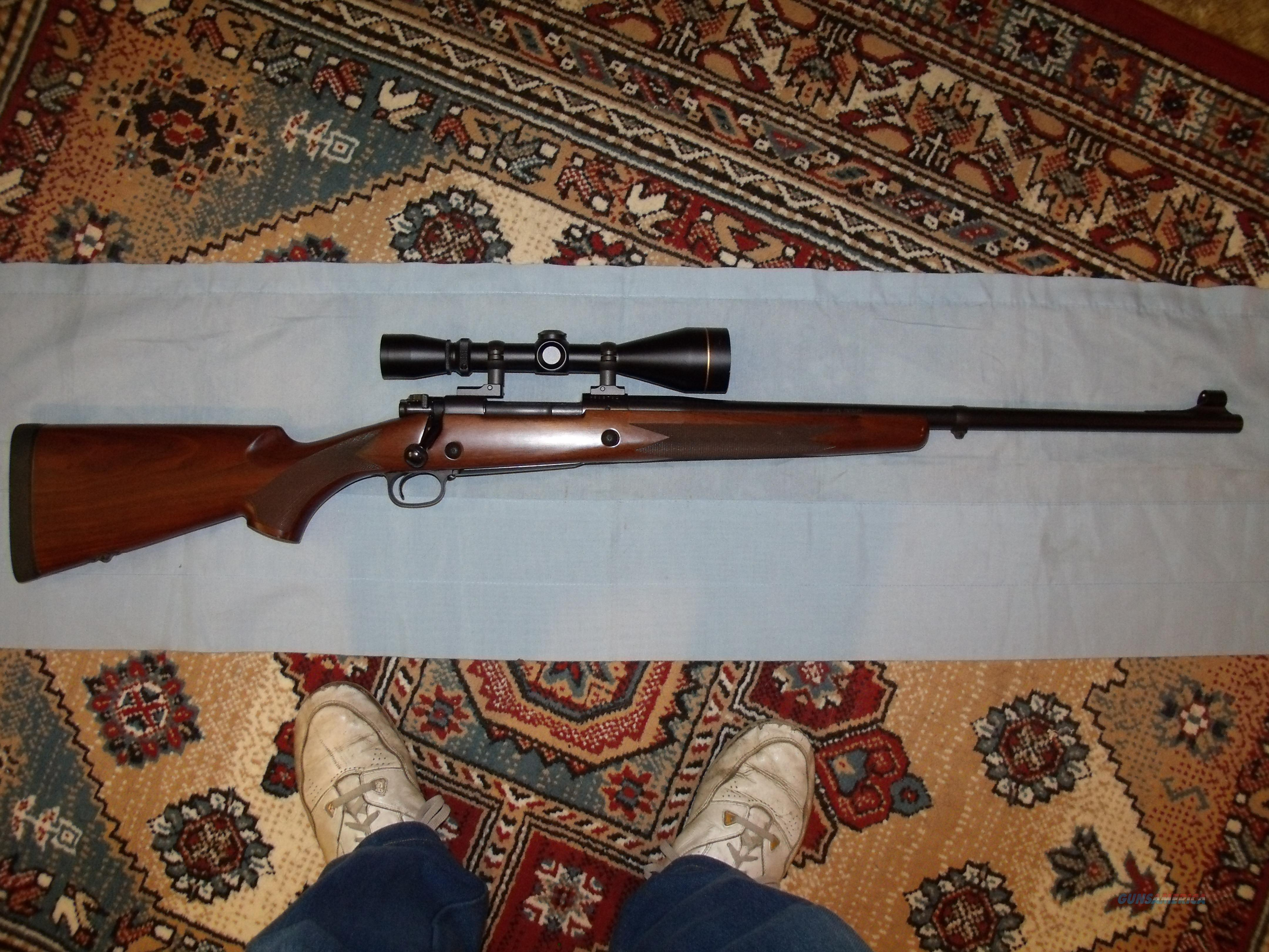 CLASSIC CUSTOM SAFARI EXPRESS- 375H&H MAG  Guns > Rifles > Winchester Rifles - Modern Bolt/Auto/Single > Model 70 > Post-64