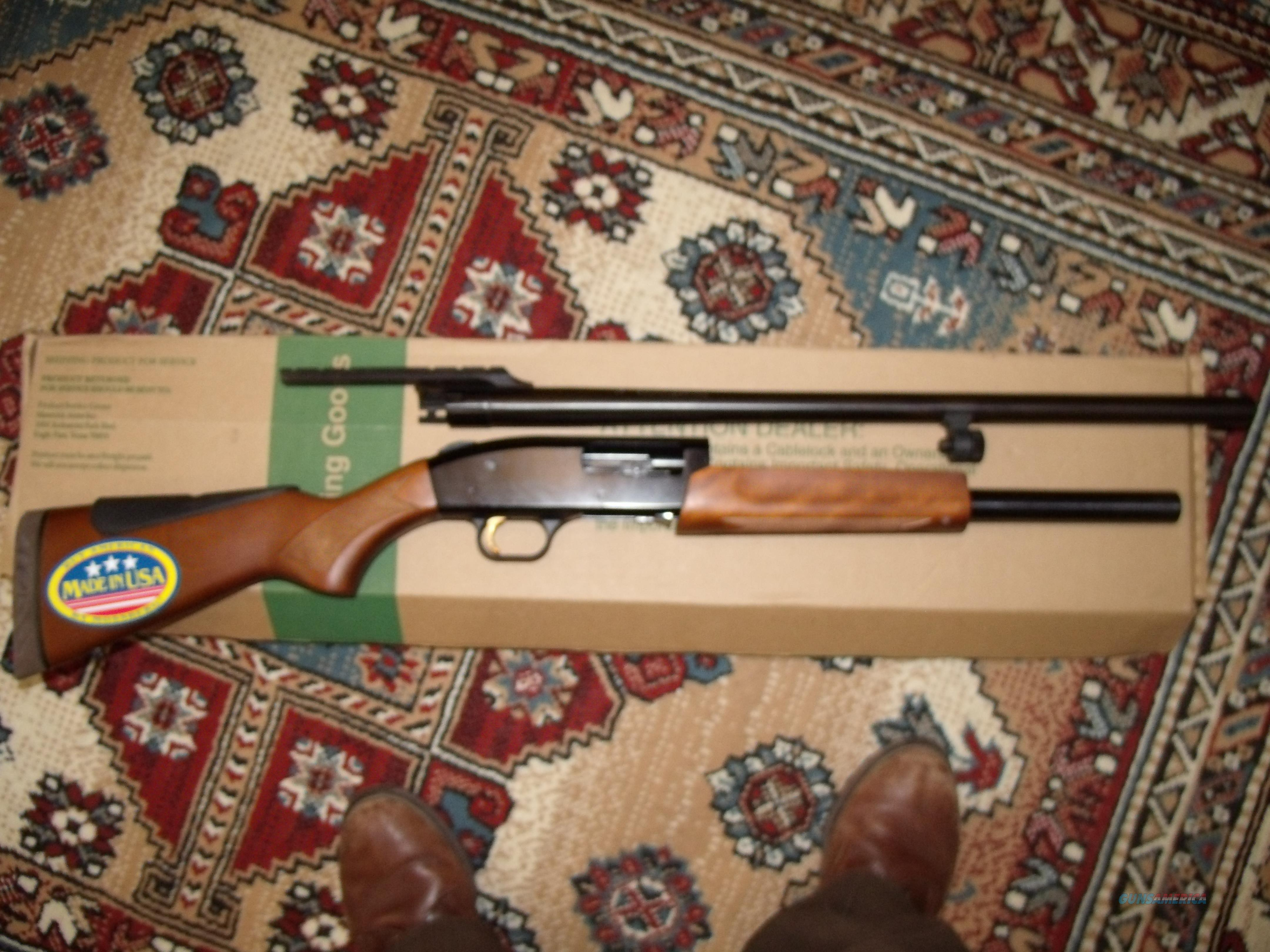 MOSSBERG 500 CROWN GRADE TROPHY SLUGSTER 12G  Guns > Shotguns > Mossberg Shotguns > Pump > Sporting