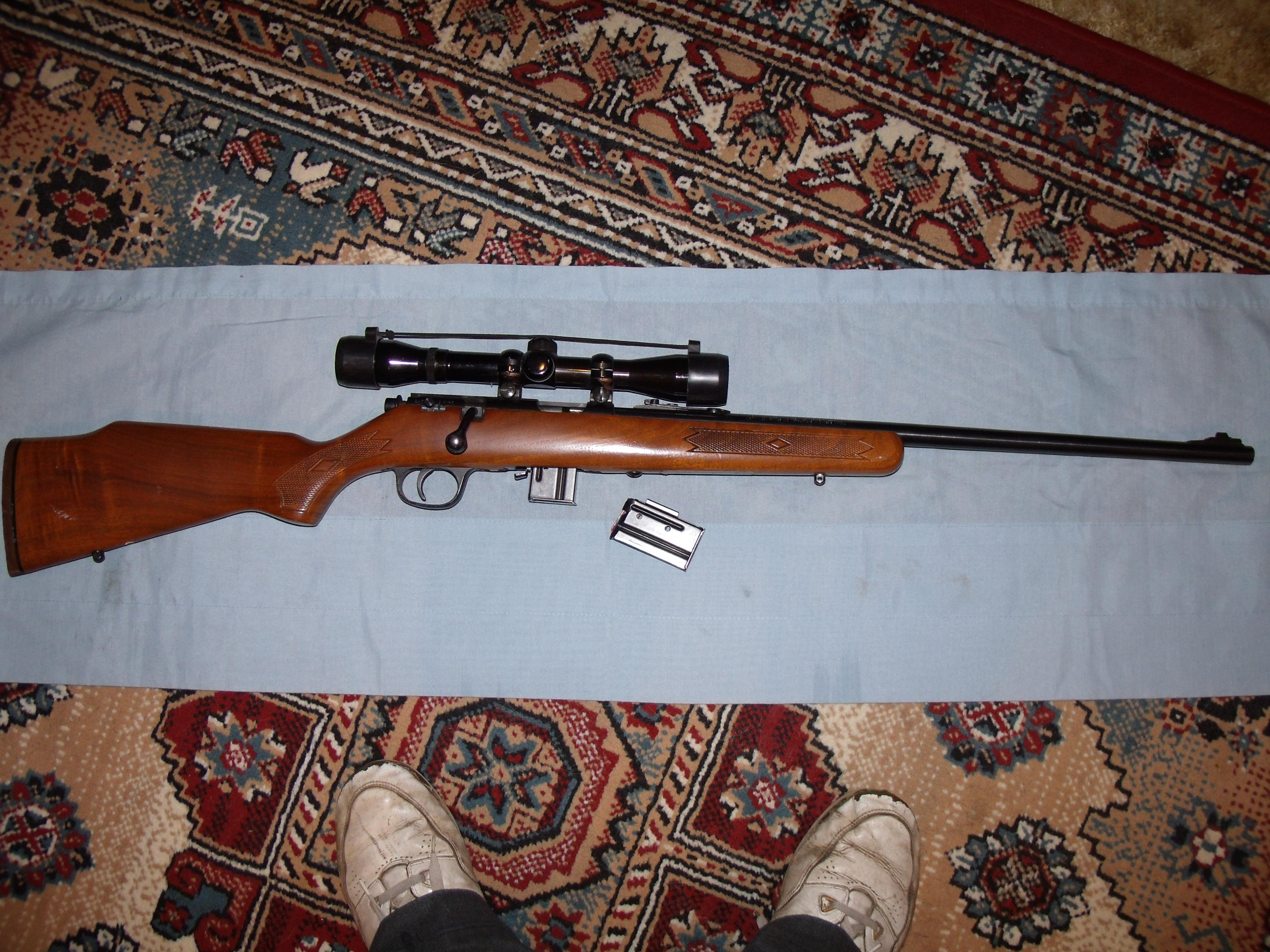WINCHESTER M77 .22 SEMI-AUTO  Guns > Rifles > Winchester Rifles - Modern Bolt/Auto/Single > Autoloaders