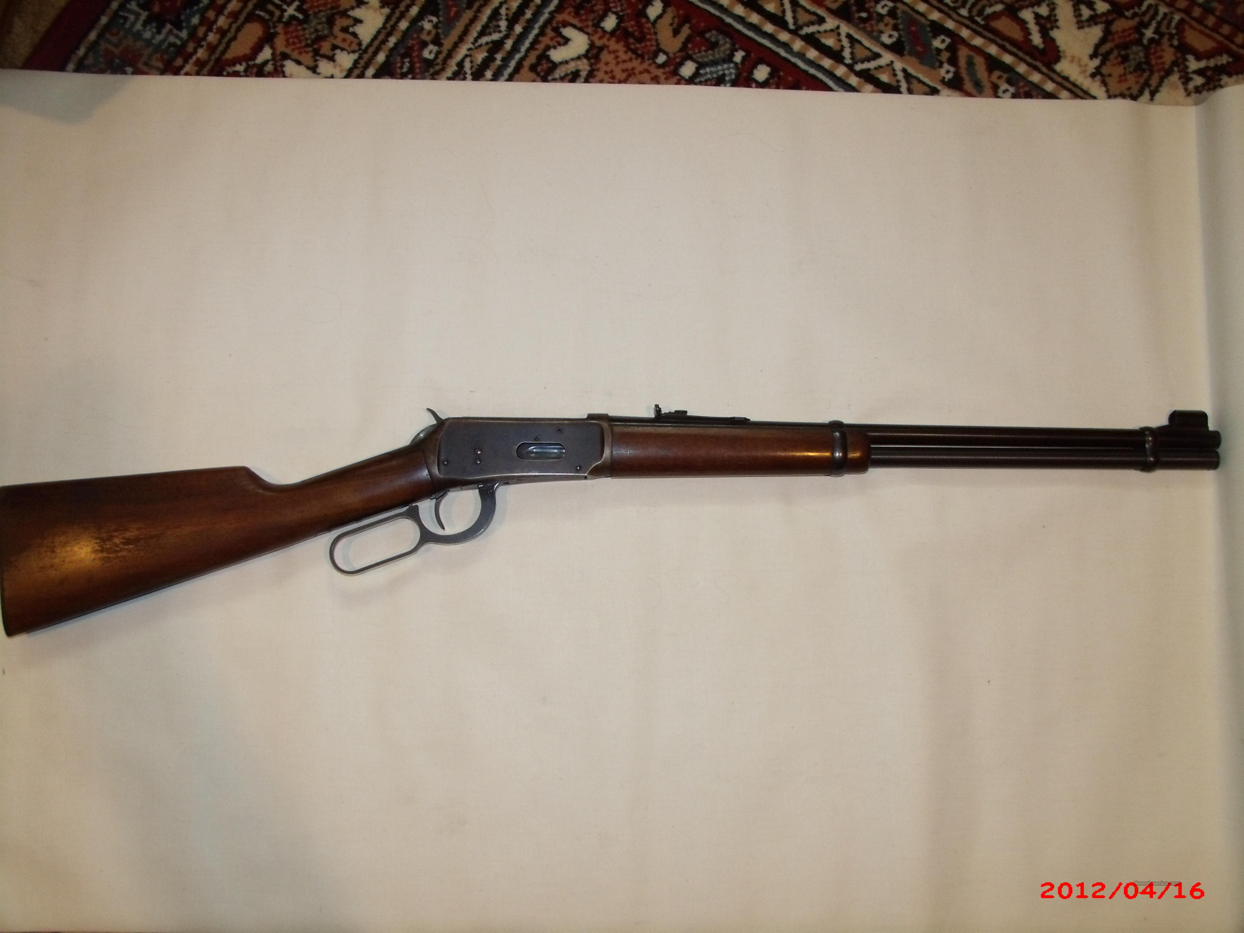 Winchester M1894,.30-30 made1964  Guns > Rifles > Winchester Rifles - Modern Lever > Model 94 > Post-64