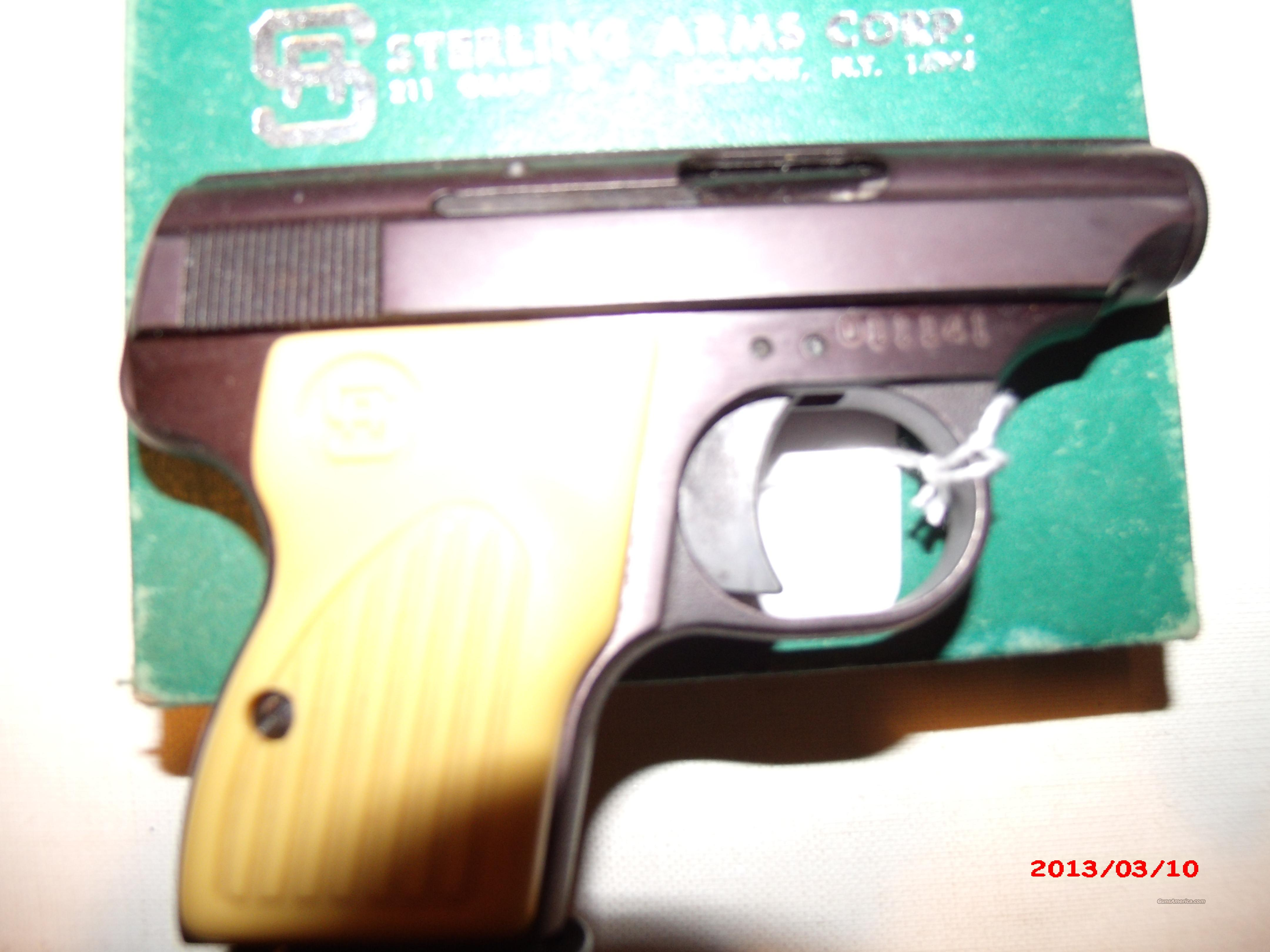 Sterling Arms,.25acp,Model300  Guns > Pistols > S Misc Pistols