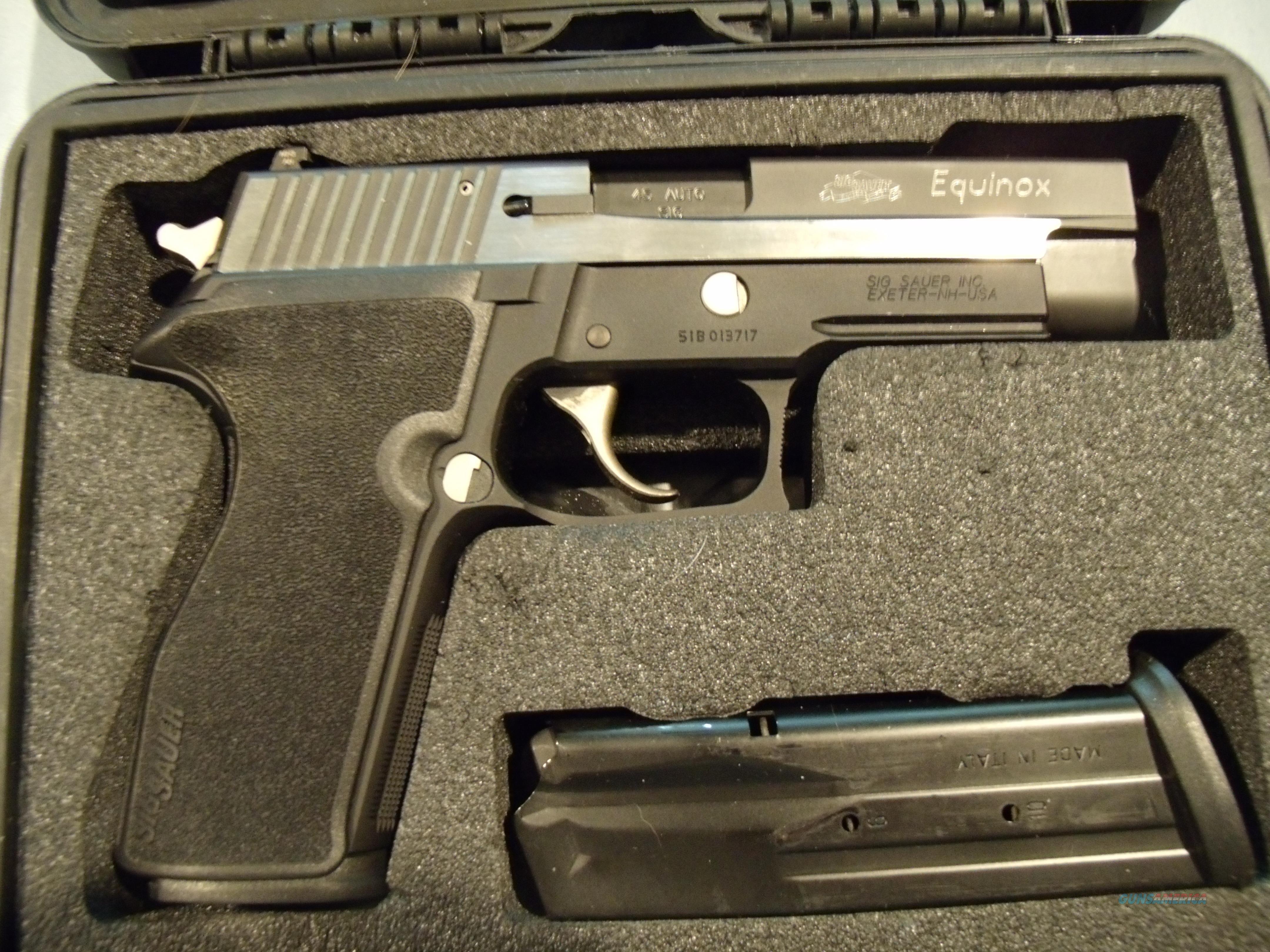 SIG SAUER P227 EQUINOX  .45 ACP  Guns > Pistols > Sig - Sauer/Sigarms Pistols > P227