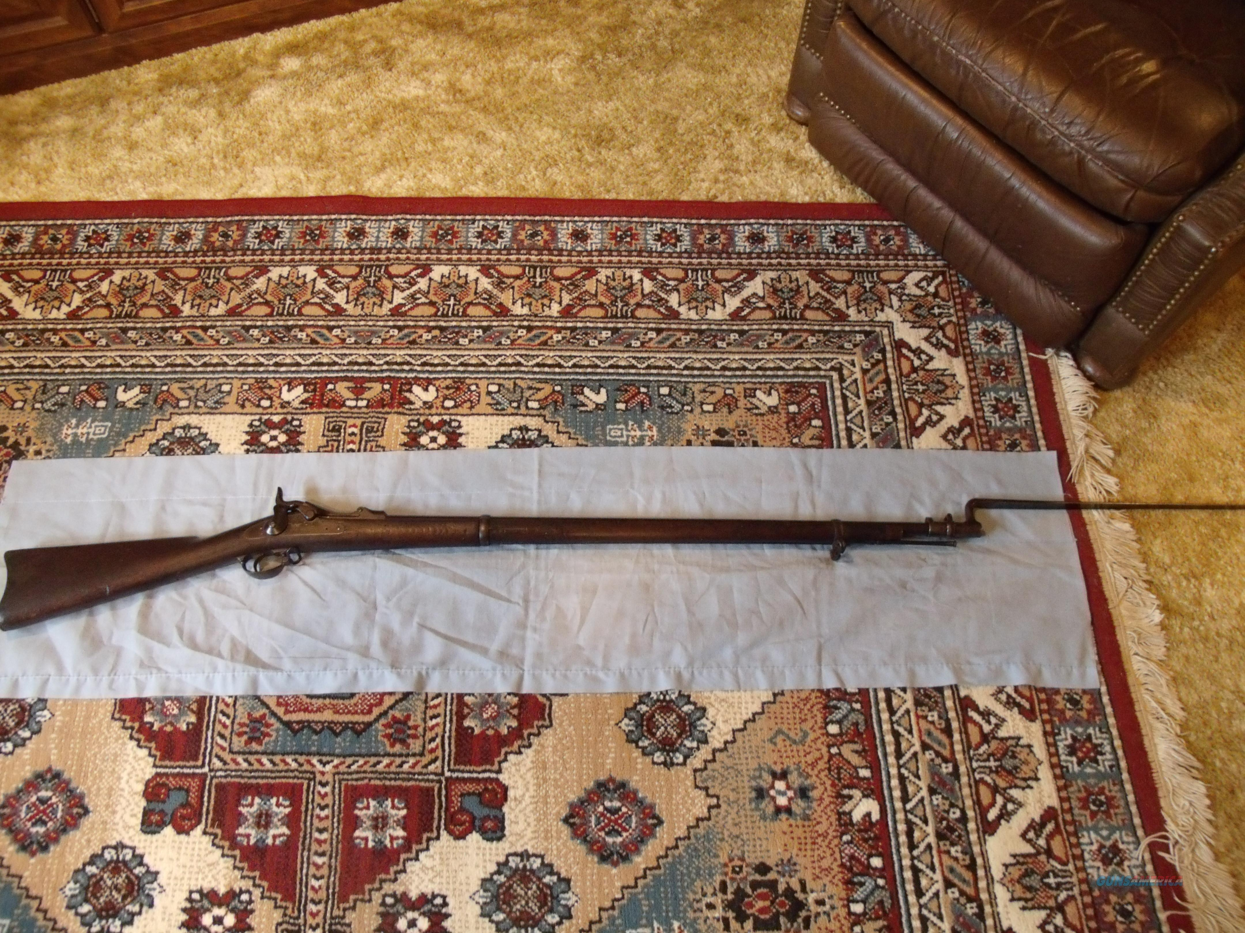 SPRINGFIELD ARMORY 1873 TRAPDOOR with BAYONET  Guns > Rifles > Military Misc. Rifles US > Pre-1900