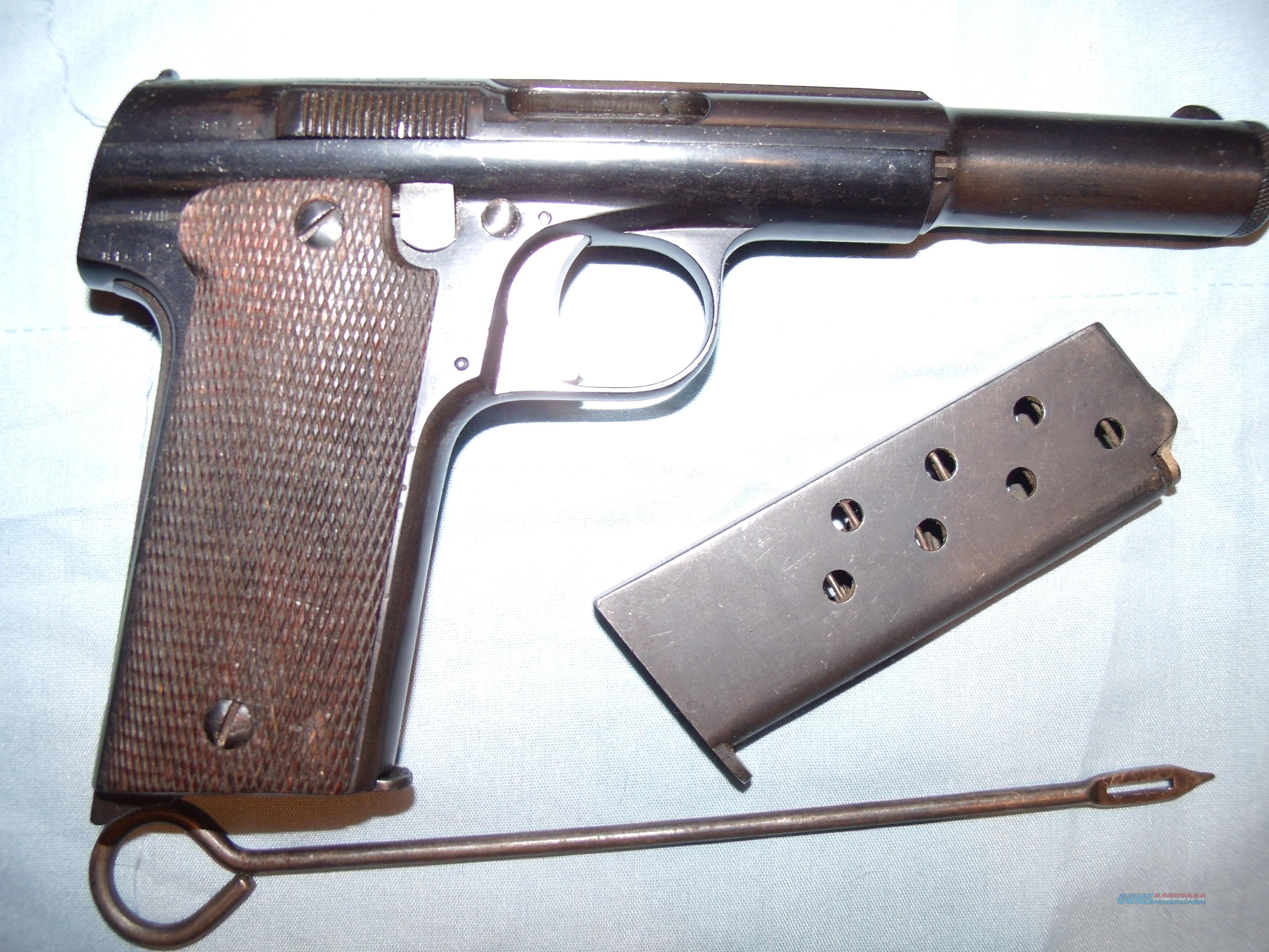 ASTRA 400  (MODEL 1921)  9MM LARGO  Guns > Pistols > Astra Pistols