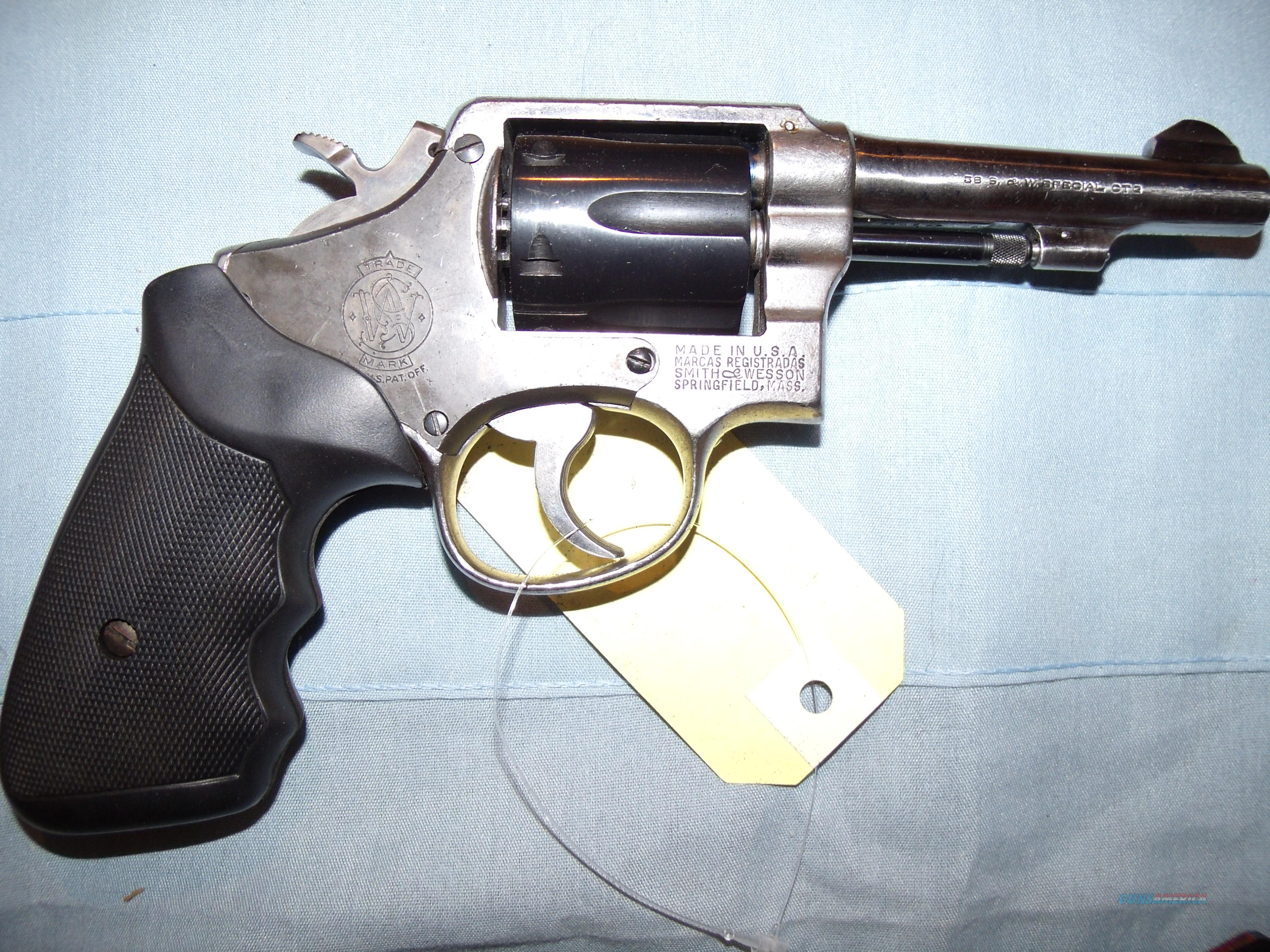 S&W M&P MODEL OF 1905 4TH CHANGE ,.38SPECIAL  Guns > Pistols > Smith & Wesson Revolvers > Pre-1945