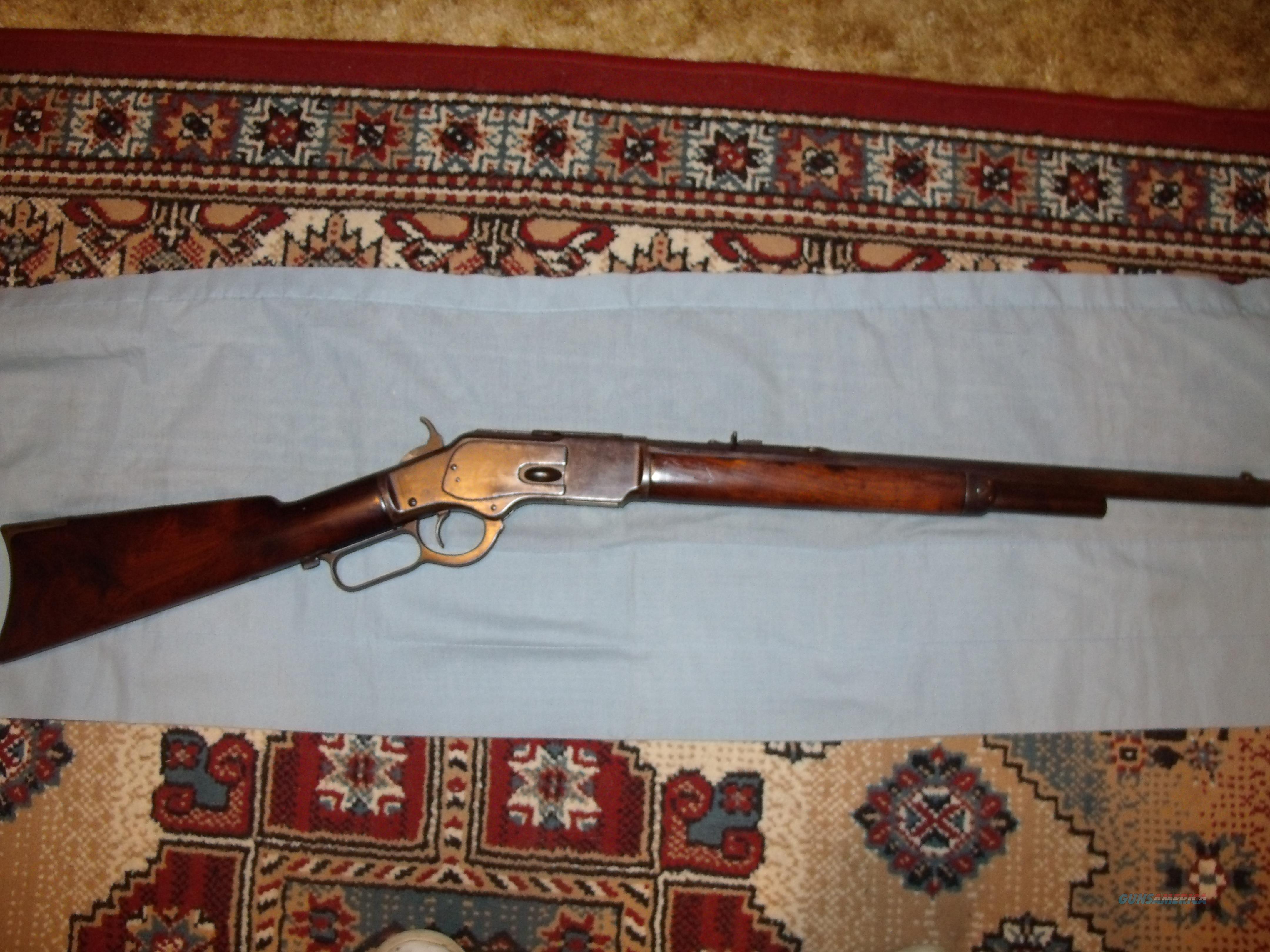 WINCHESTER MODEL 1873 CARBINE .44-40  Guns > Rifles > Antique (Pre-1899) Rifles - Ctg. Misc.