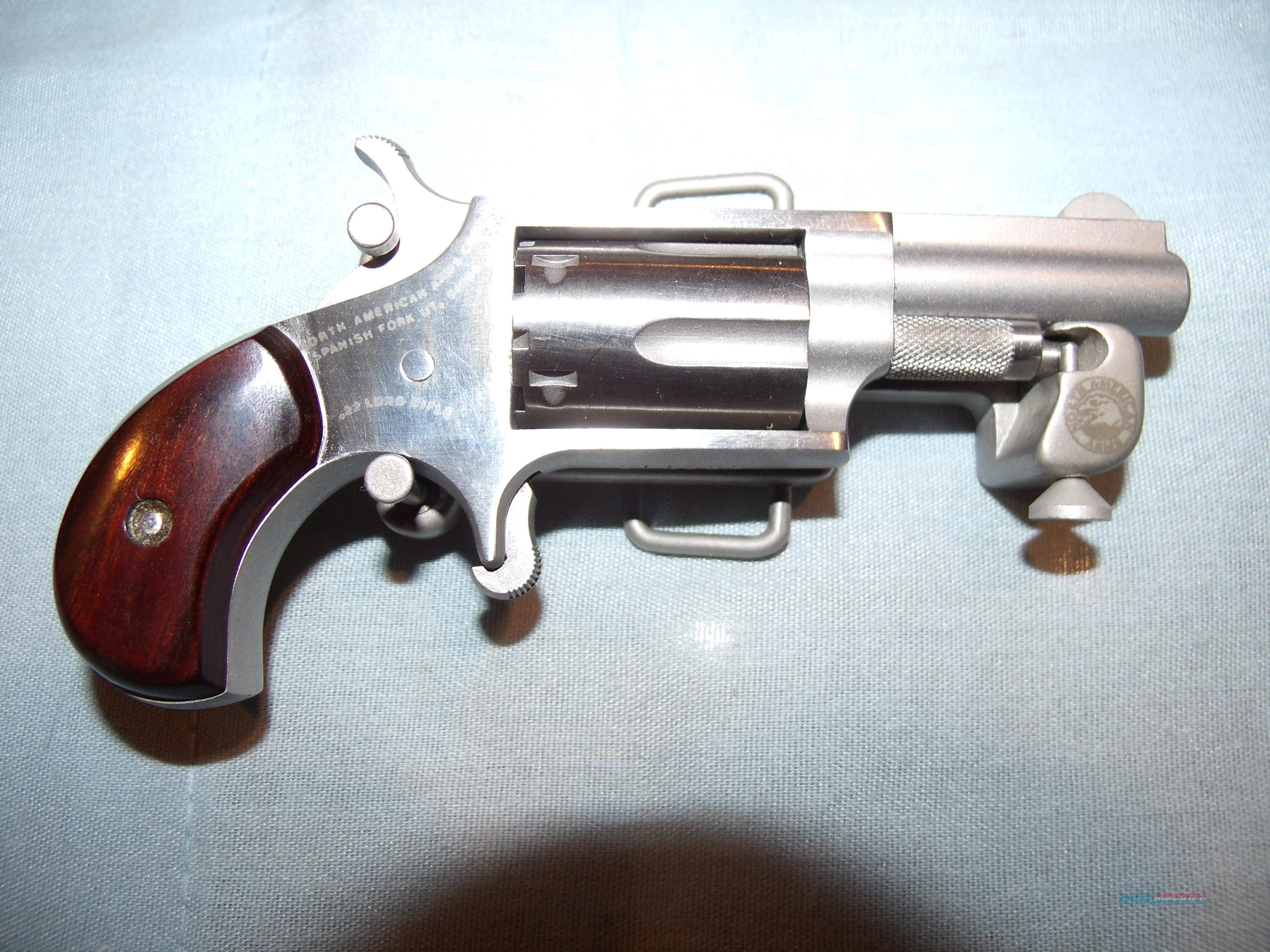NORTH AMERICAN ARMS  .22LR with BELT  BUCKLE  Guns > Pistols > North American Arms Pistols