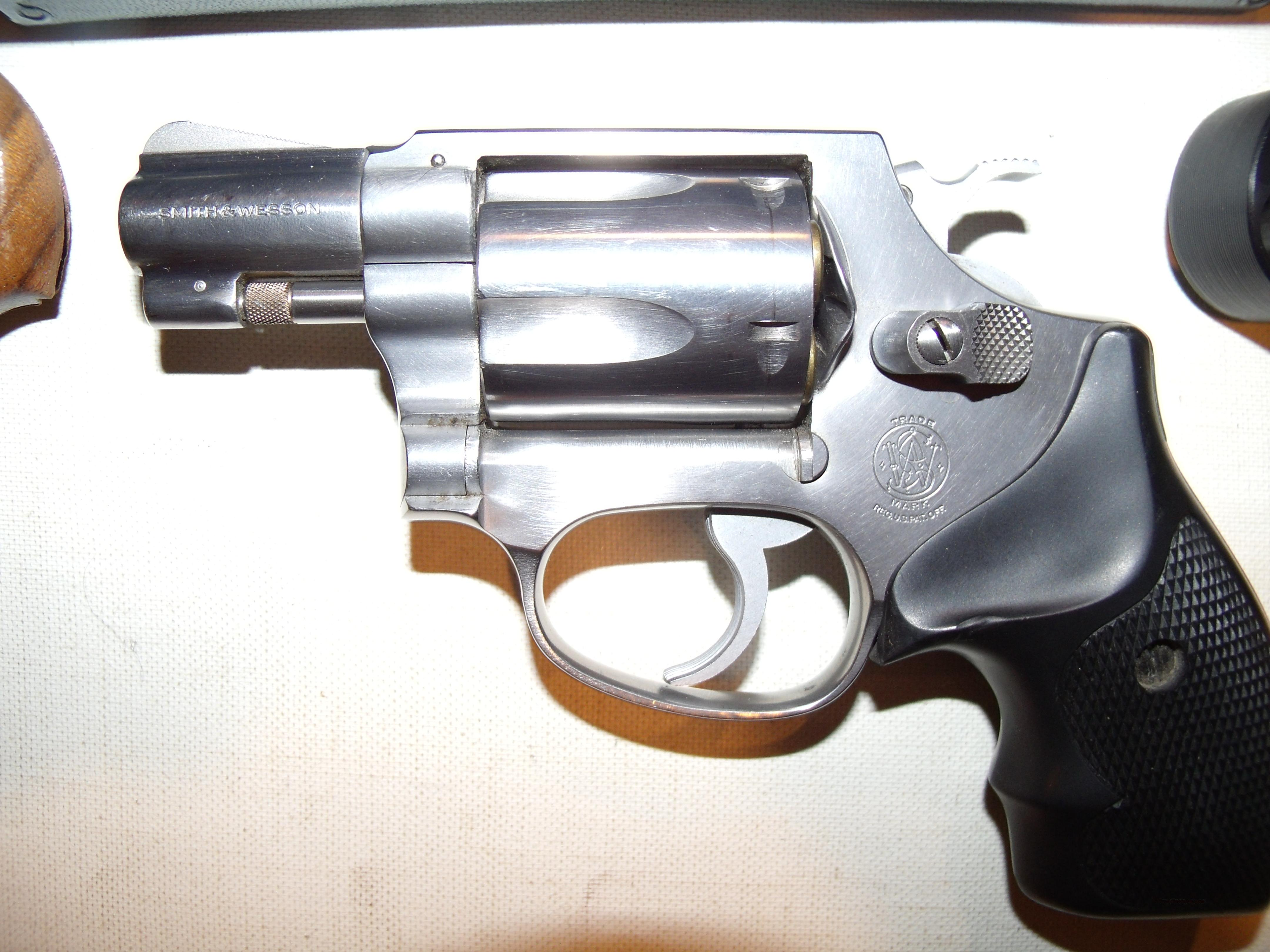 S&W, M60 ,SS .38 Special  Guns > Pistols > Smith & Wesson Revolvers > Pocket Pistols