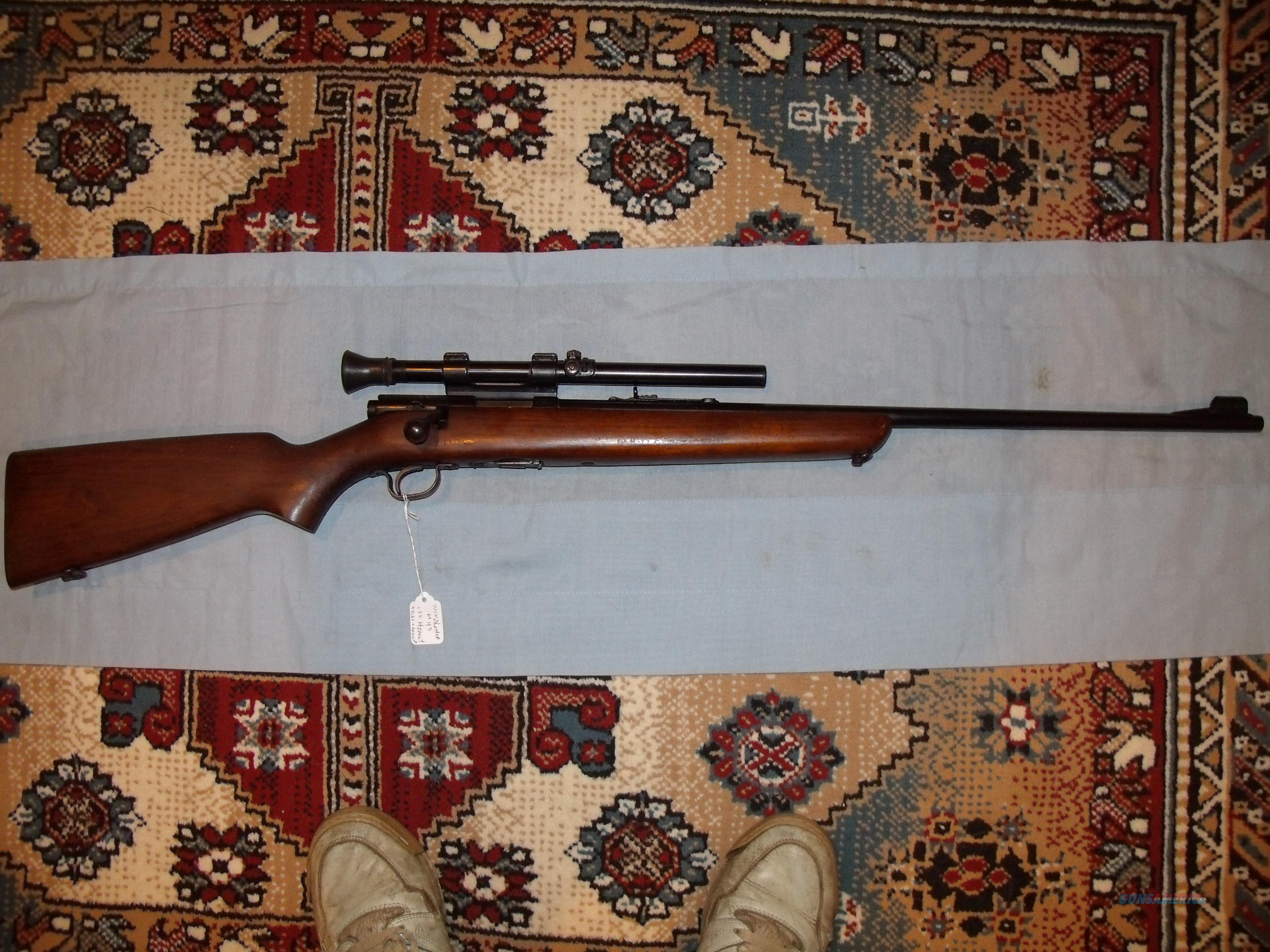 WINCHESTER MODEL 43 ,.22 HORNET  Guns > Rifles > Winchester Rifles - Modern Bolt/Auto/Single > Other Bolt Action