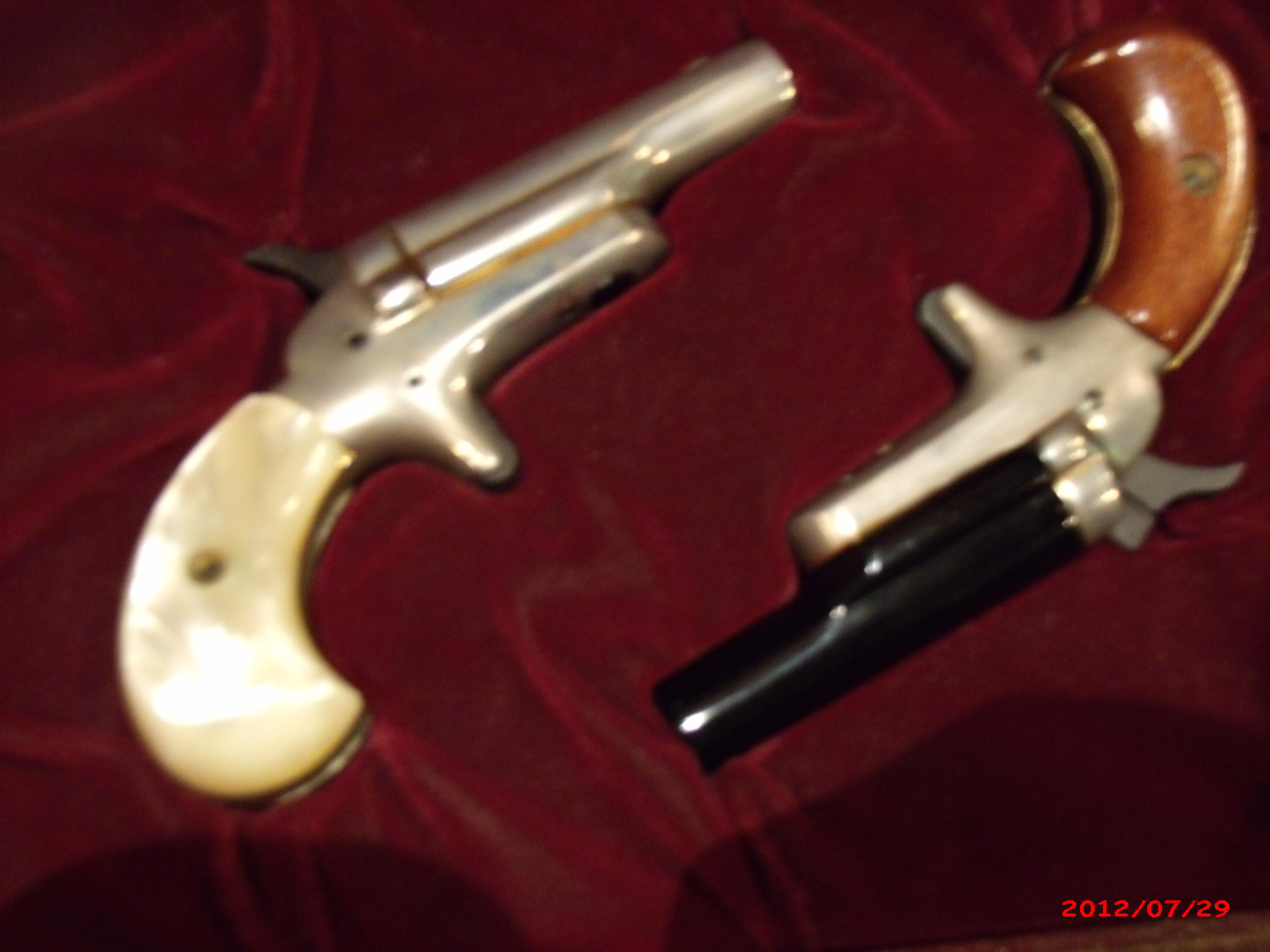 Colt Lord & Lady ,.22 Cased  Deringers  Guns > Pistols > Colt Commemorative Pistols