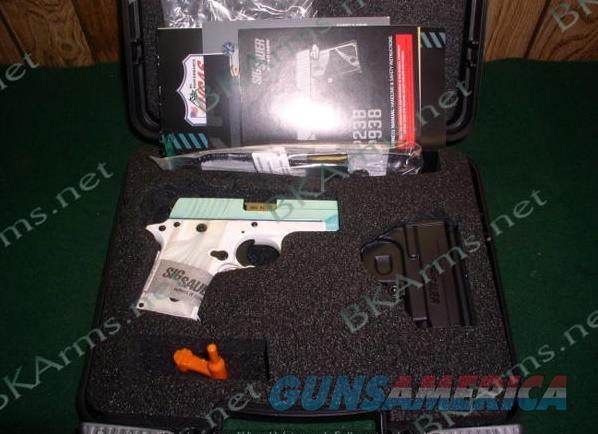 Sig 238380TSW .380acp Exclusive Robins Egg P238 Free Ship  Guns > Pistols > Sig - Sauer/Sigarms Pistols > P238