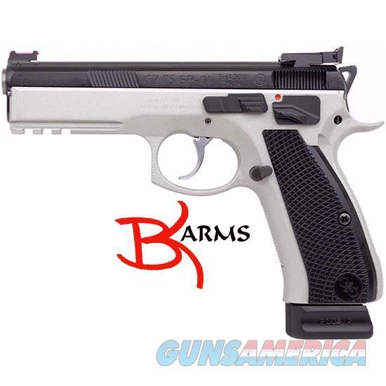 CZ 91708 Shadow Custom 9mm 2 Tone Excl. FreeShip  Guns > Pistols > CZ Pistols