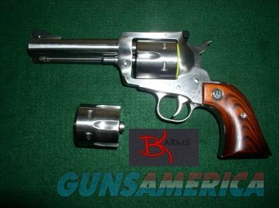 Ruger 0310 KBN34X .357/9mm Convertible SS Blackhawk Free Ship  Guns > Pistols > Ruger Single Action Revolvers > Blackhawk Type
