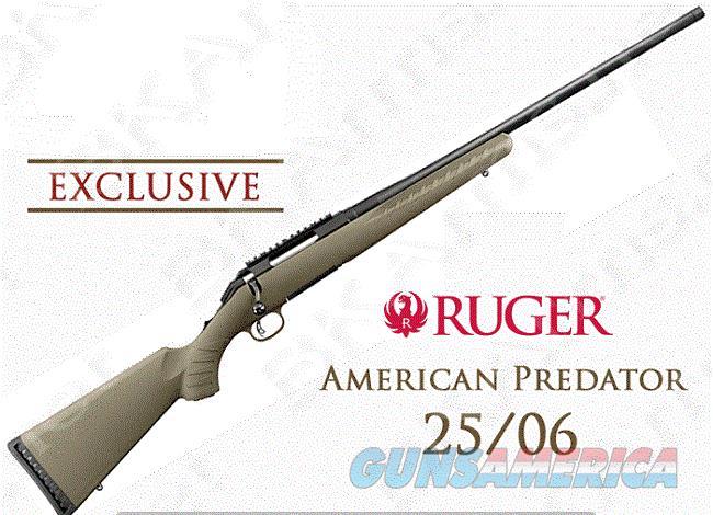 Ruger 16945 American Predator 25-06 Exclu FreeShip  Guns > Rifles > Ruger Rifles > American Rifle
