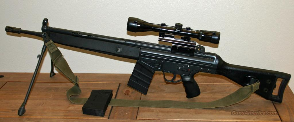 HK-91; pre-ban  Guns > Rifles > Heckler & Koch Rifles > Tactical