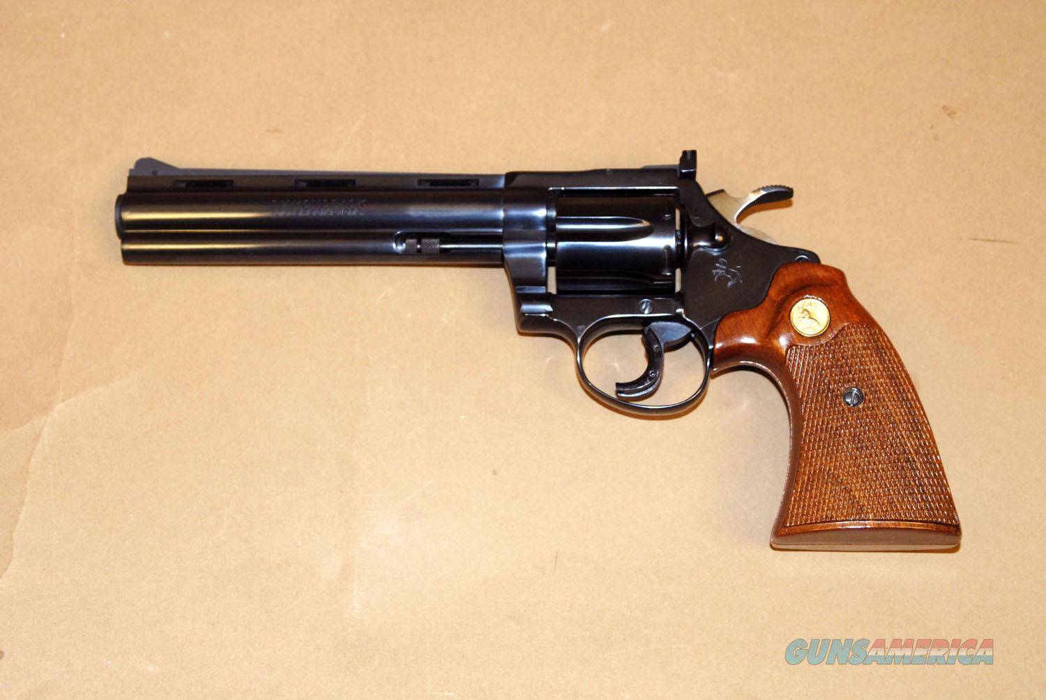 "Colt Diamondback .38 Spl. 6 "" barrel  Guns > Pistols > Colt Double Action Revolvers- Modern"