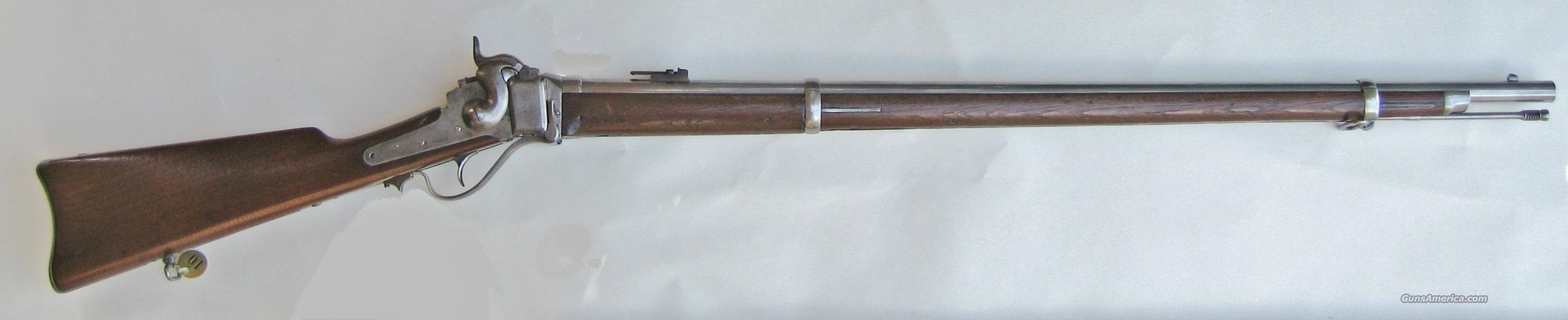 M1870 SPRINGFIELD SHARPS TRIAL RIFLE – TYPE 1  Guns > Rifles > Sharps Rifles - Pre-1899