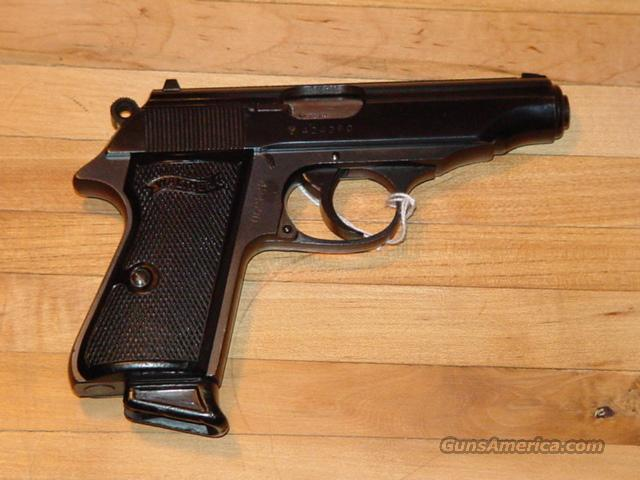 Scarce West German Police Walther PP 32 ACP, no importer markings...   Guns > Pistols > Walther Pistols > Post WWII > PP Series
