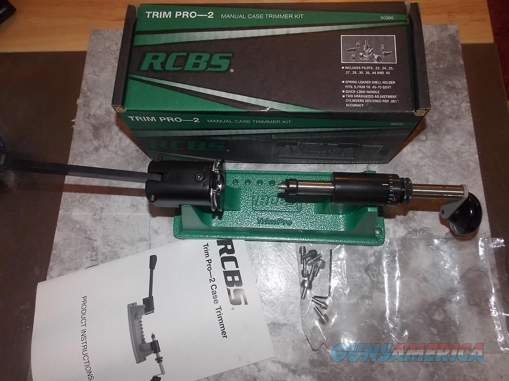 RCBS Case Trimmer II.   Non-Guns > Reloading > Equipment > Metallic > Presses