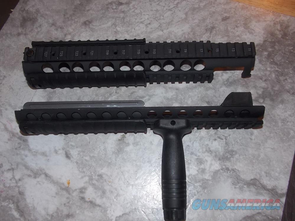 "Knights Armament Quad Rail. AR 15 20"" barrel/Dissipater.   Non-Guns > Gun Parts > M16-AR15 > Upper Only"