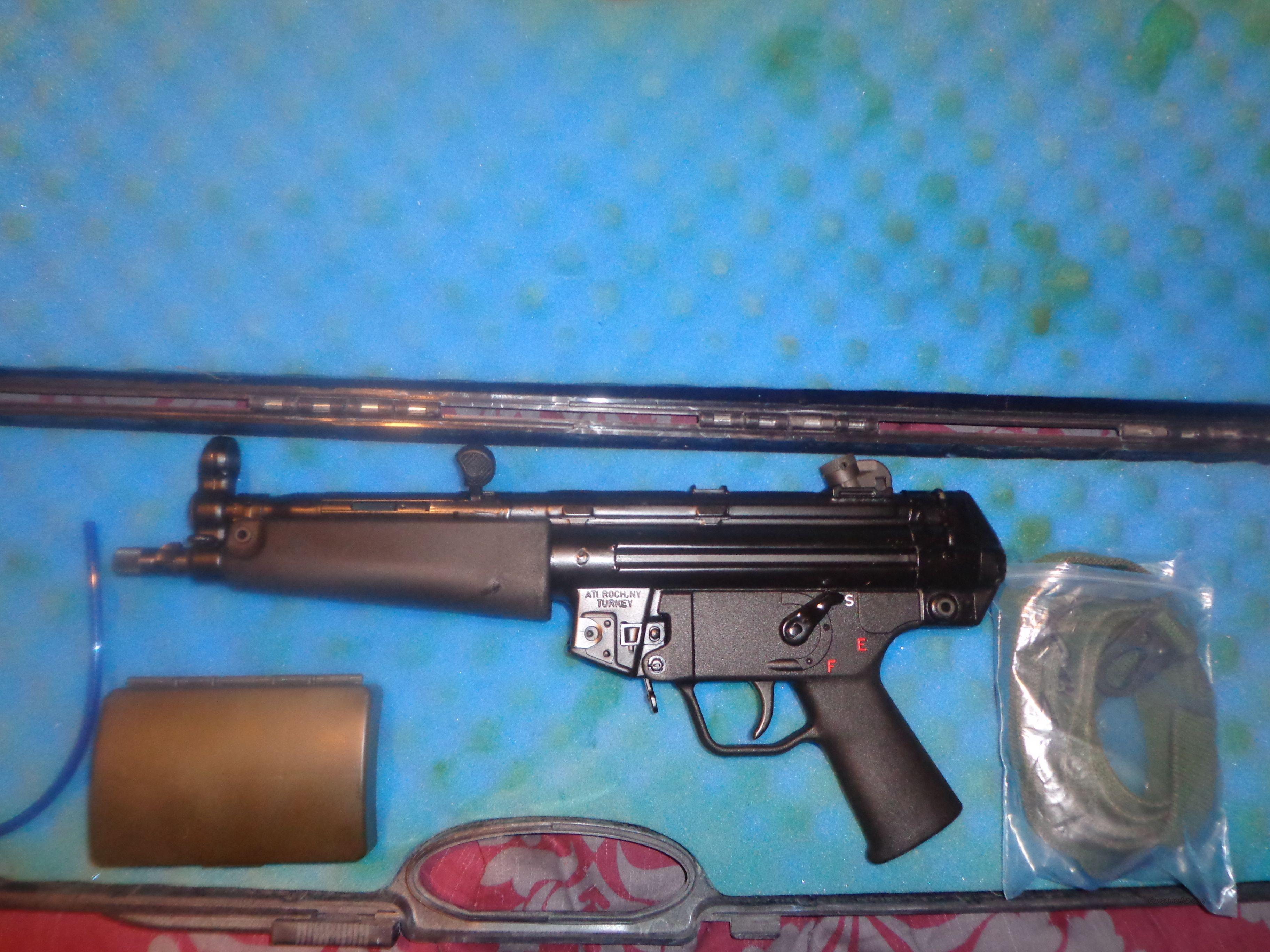 MKE AT94P 3 lug 9mm HK94 MP5 H&K AT-94-A2  Guns > Pistols > Military Misc. Pistols Non-US